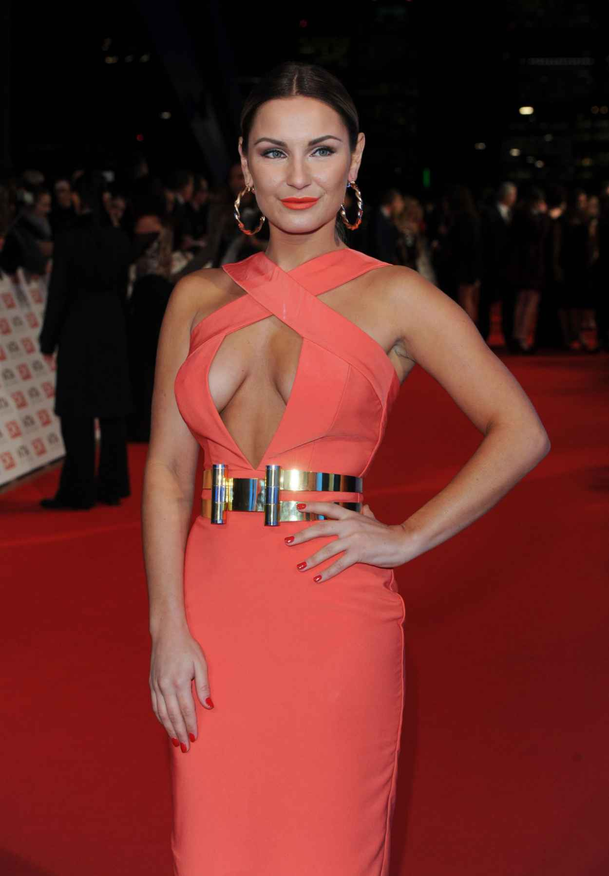 Sam Faiers - 2015 National Television Awards in London-1