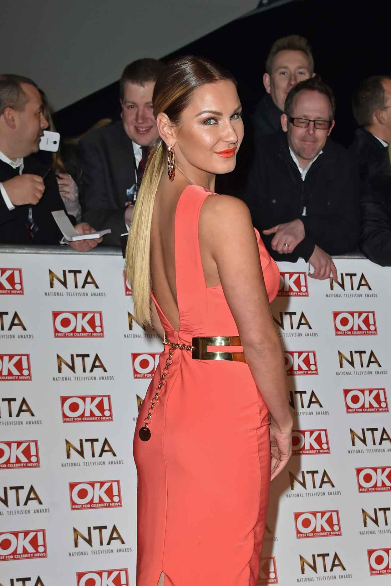 Sam Faiers - 2015 National Television Awards in London-3