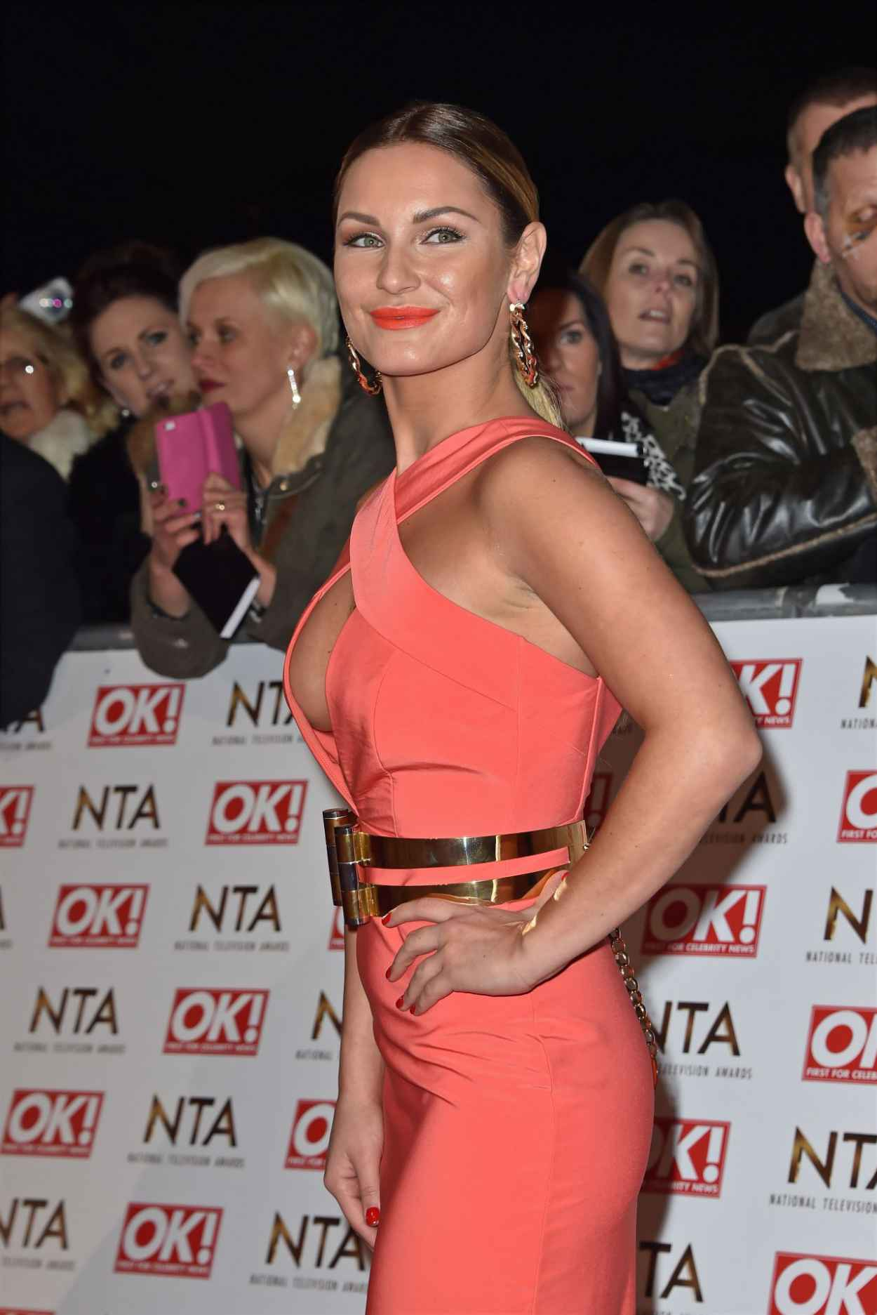 Sam Faiers - 2015 National Television Awards in London-5