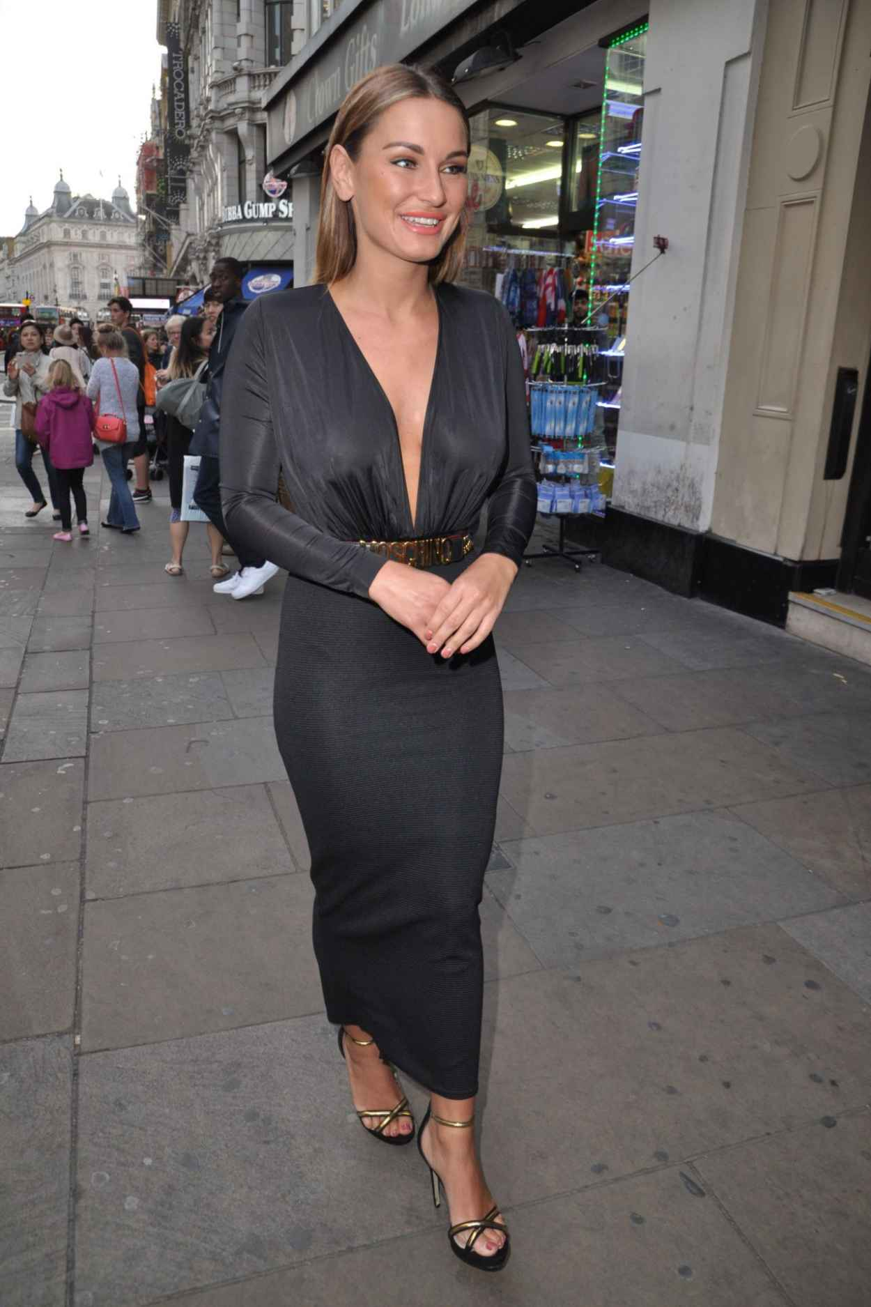Sam Faiers at RuPauls Drag Race in London, june 2015-2