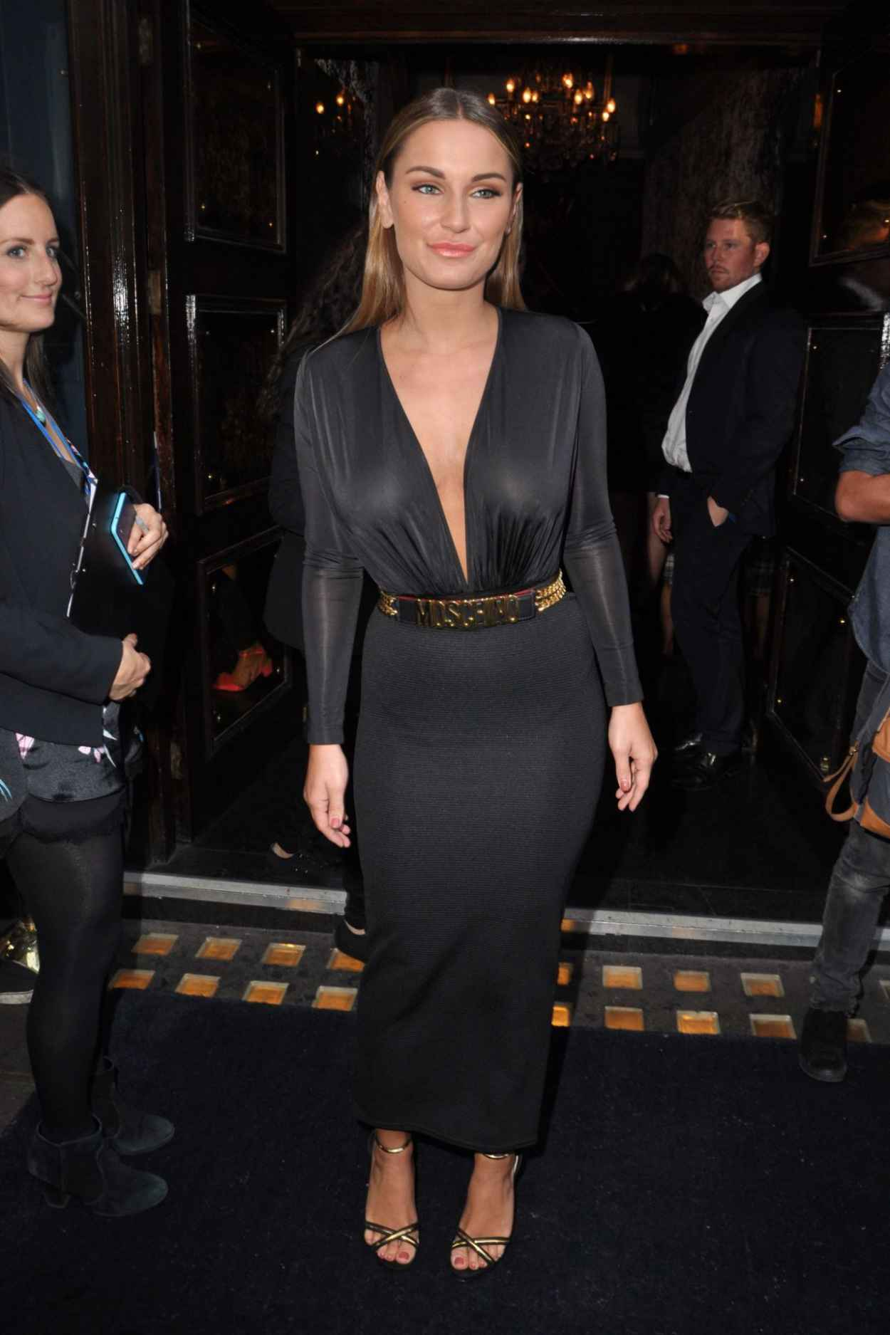 Sam Faiers at RuPauls Drag Race in London, june 2015-3
