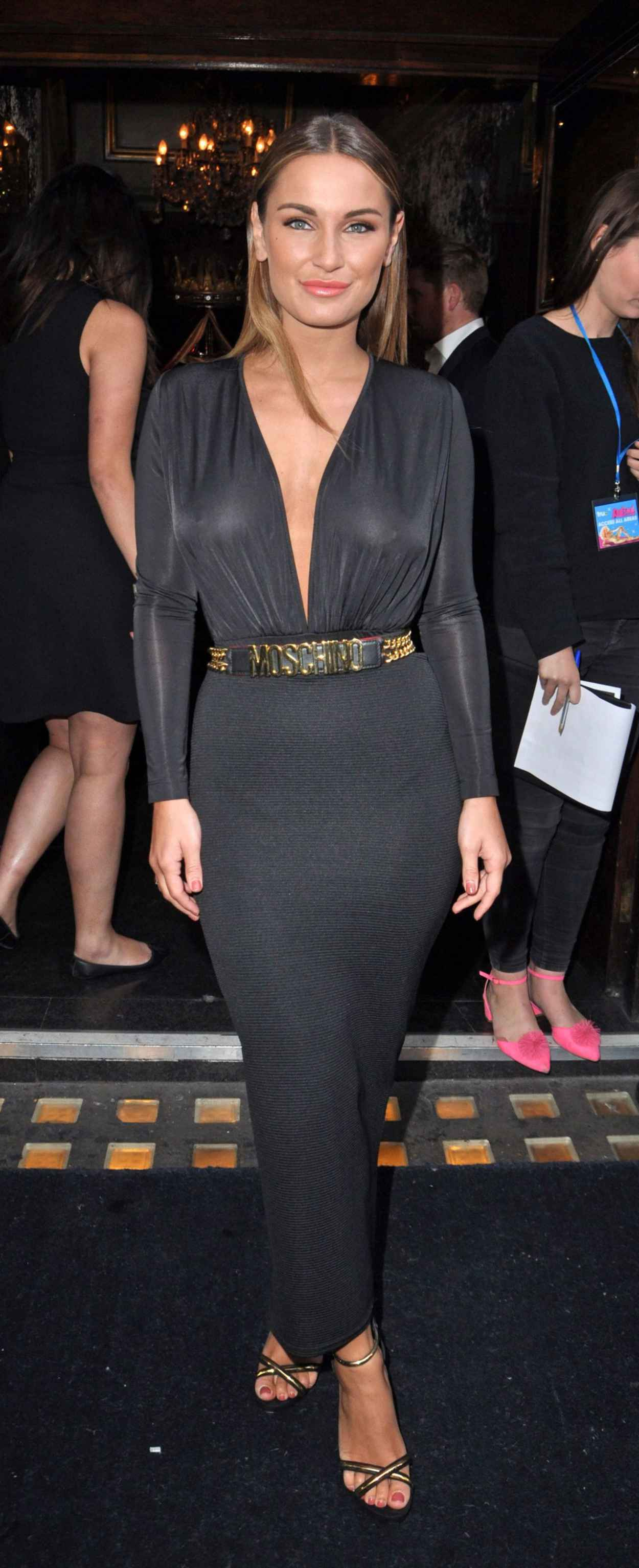 Sam Faiers at RuPauls Drag Race in London, june 2015-4