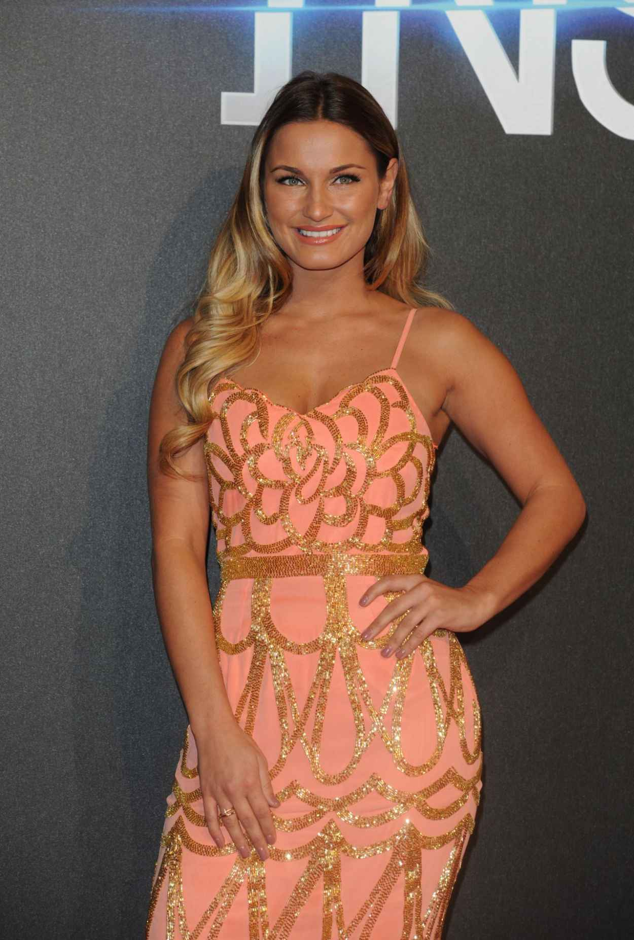 Sam Faiers on Red Carper - Insurgent Premiere in London-1