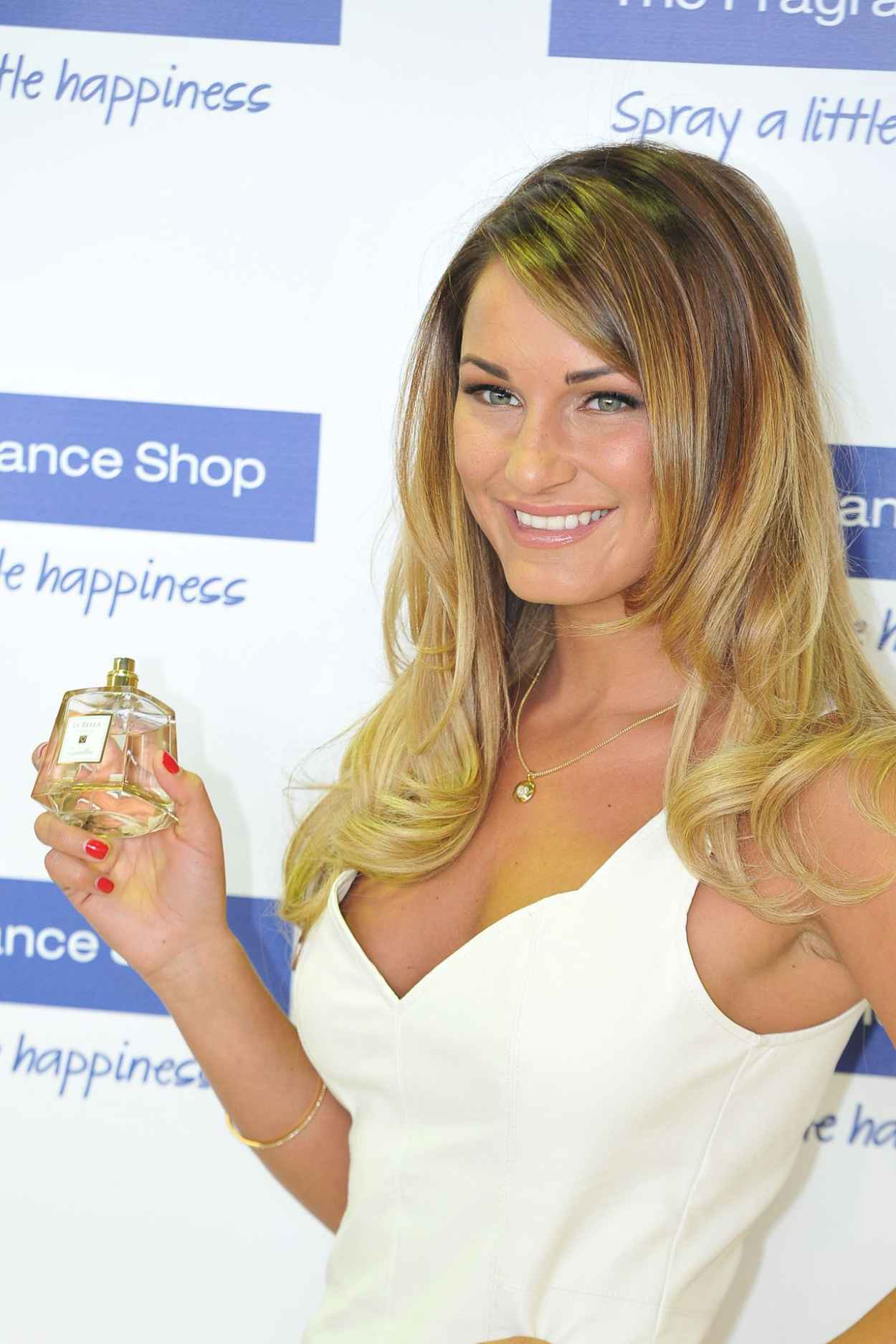 Sam Faiers - Promotes Her New Fragrance La Bella in Kent-1