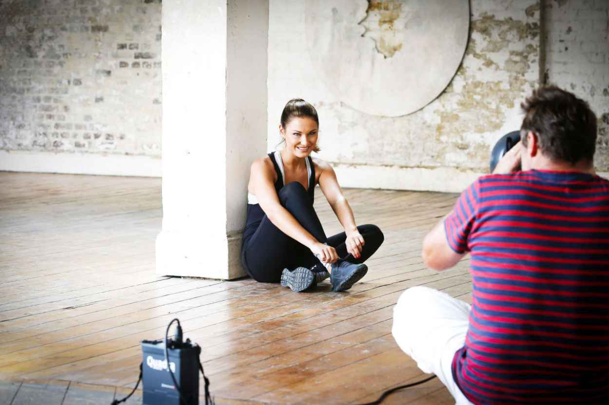 Sam Faiers - Workout PhotoShoot (2014)-3