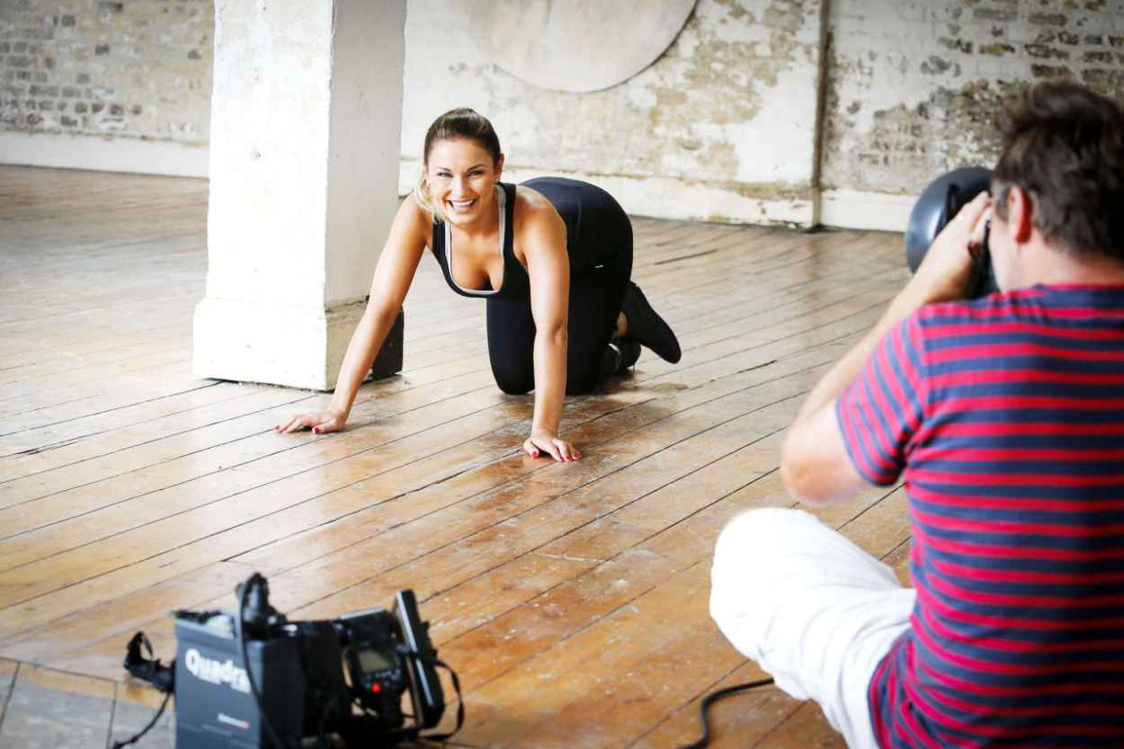 Sam Faiers - Workout PhotoShoot (2014)-4