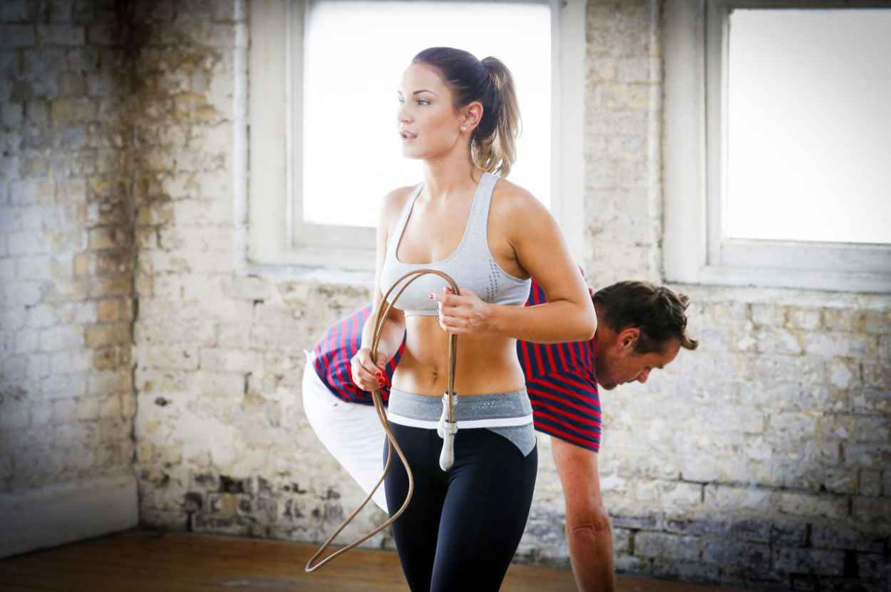 Sam Faiers - Workout PhotoShoot (2014)-5