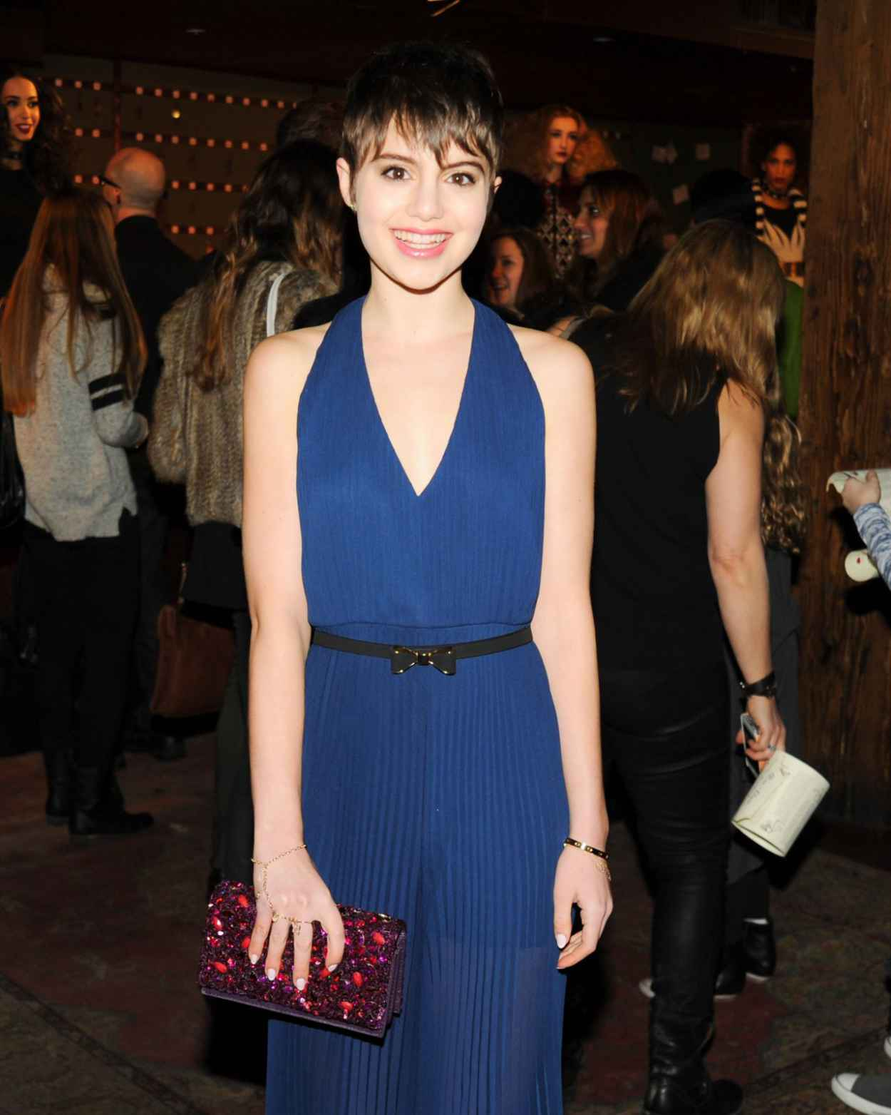 Sami Gayle at Alice + Olivia Presentation - Fashion Week Fall 2015 in New York City-1
