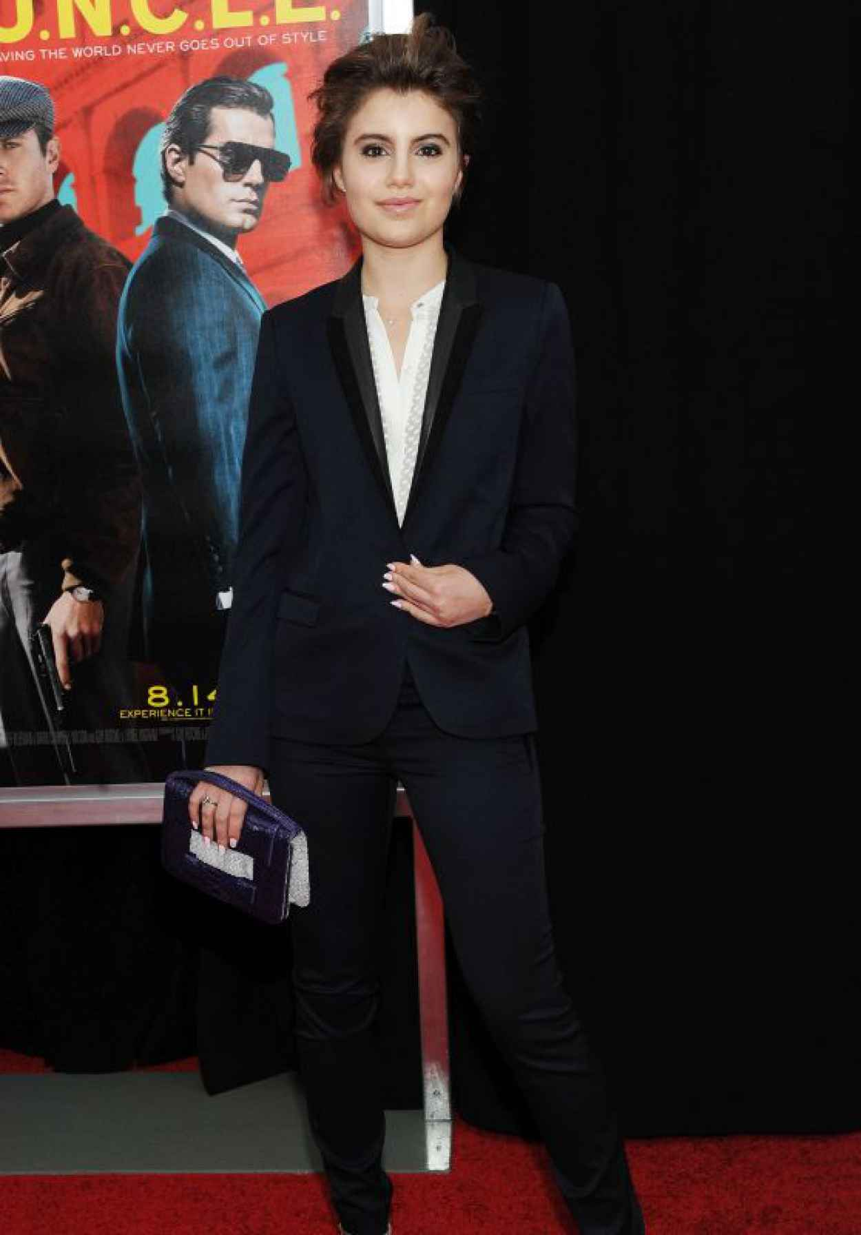 Sami Gayle - The Man From U.N.C.L.E. Premiere in New York City-1