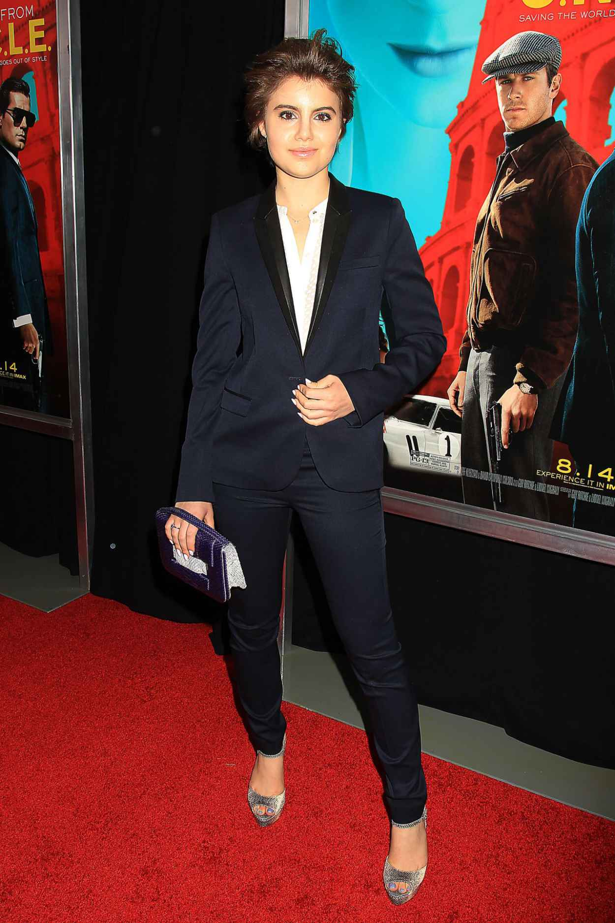 Sami Gayle - The Man From U.N.C.L.E. Premiere in New York City-5