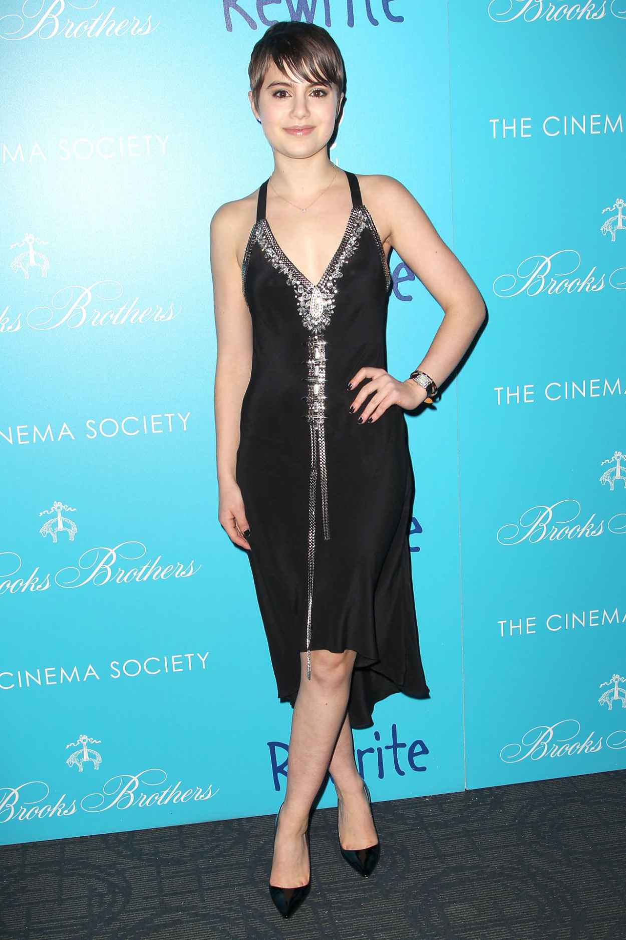 Sami Gayle - The Rewrite Screening in New York City-2