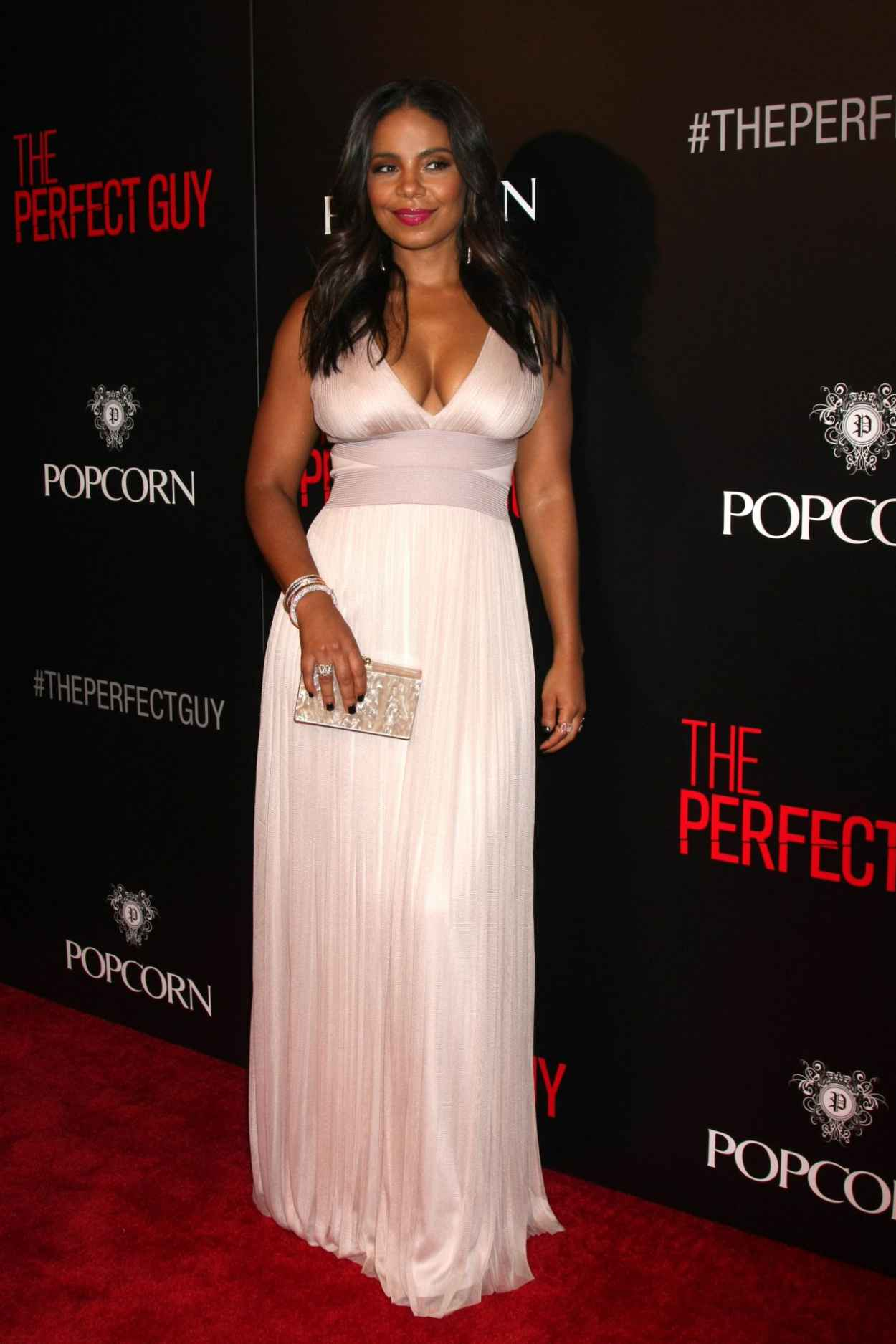 Sanaa Lathan - The Perfect Guy Premiere in Beverly Hills-2