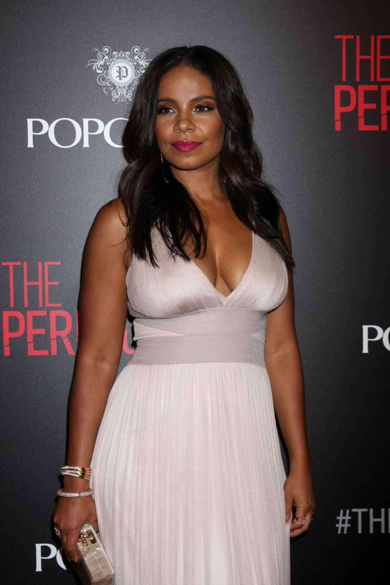 Sanaa Lathan - The Perfect Guy Premiere in Beverly Hills-5