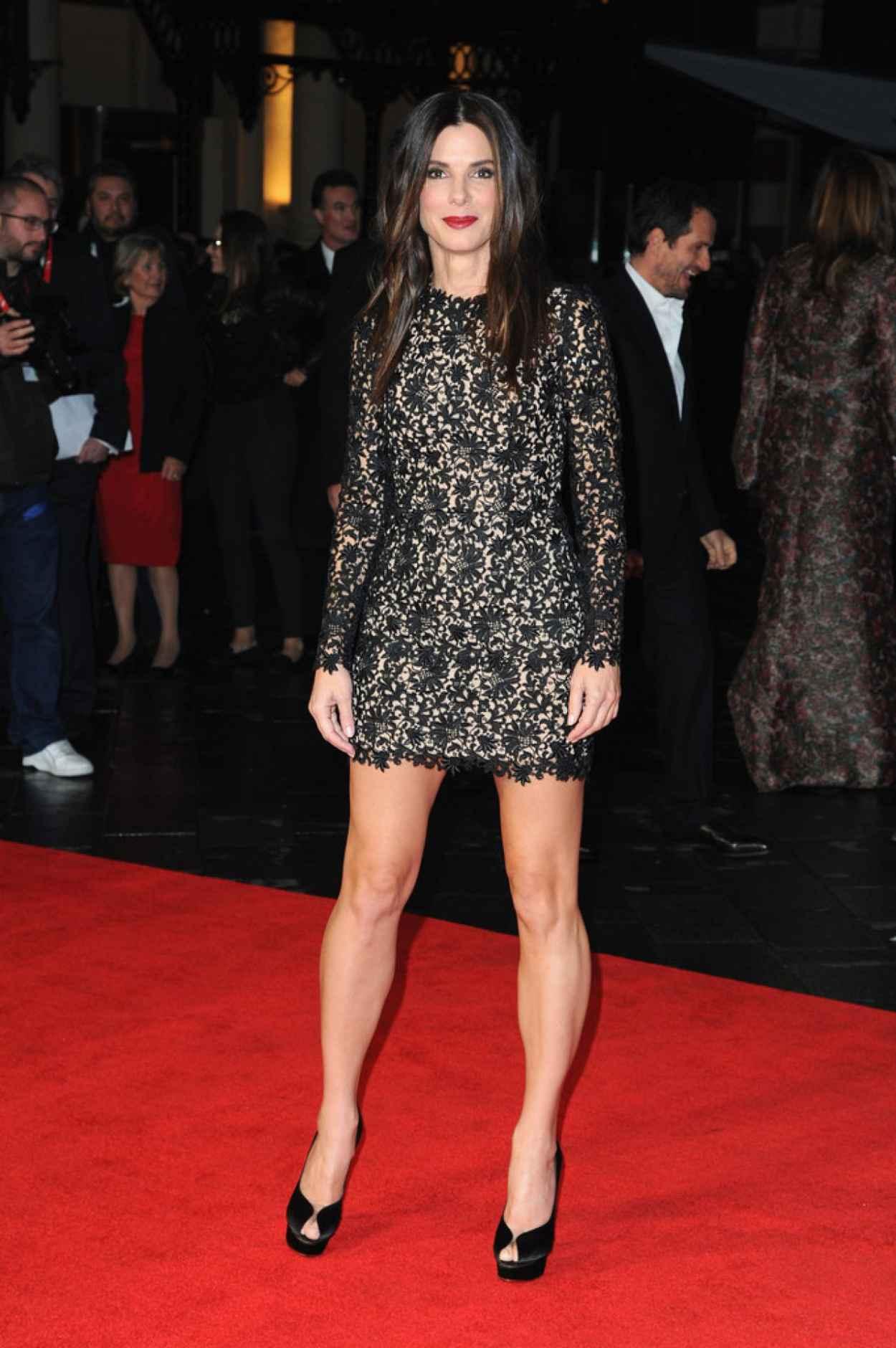Sandra Bullock Looks Amazing - Gravity Screening in London-1