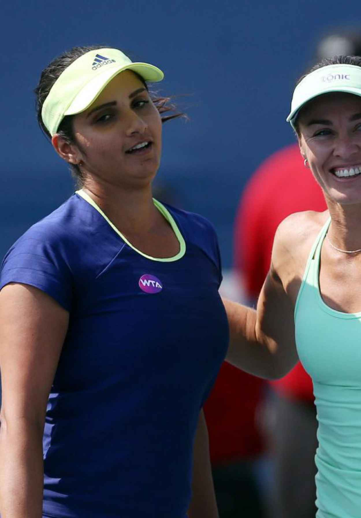 Sania Mirza & Martina Hingis - 2015 Rogers Cup in Toronto - Day 4-1