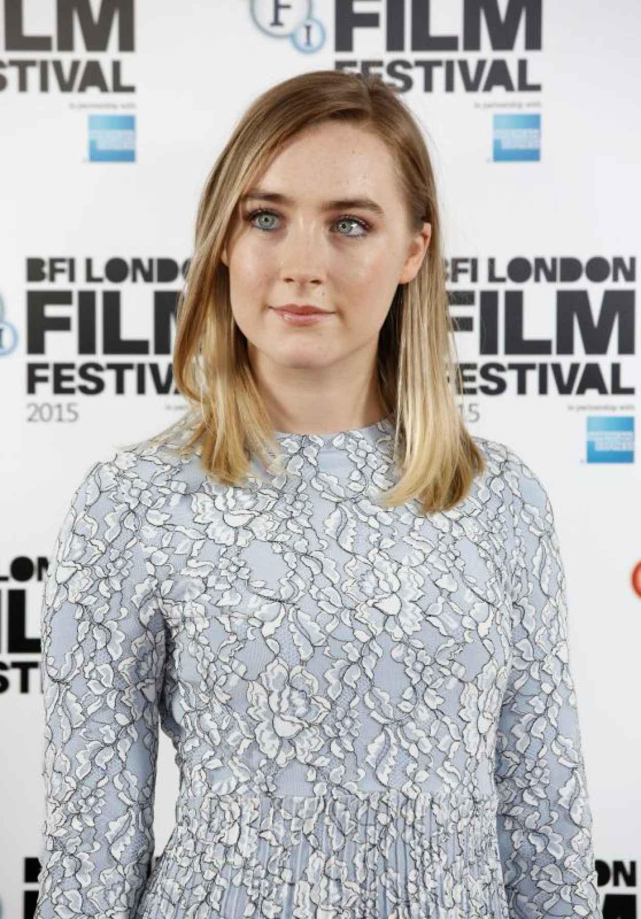 Saoirse Ronan - Brooklyn Photocall - BFI London Film Festival-1