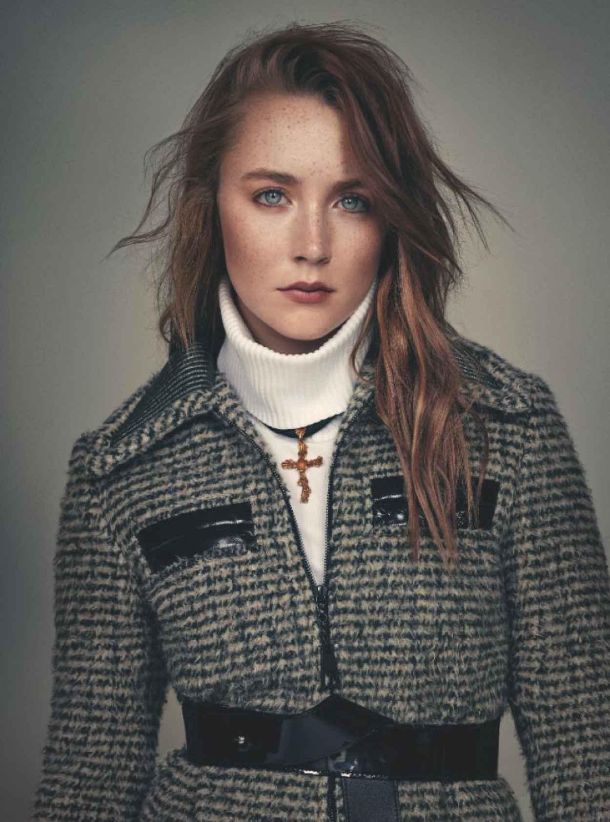 Saoirse Ronan - Wonderland Magazine - September 2015 Issue-1