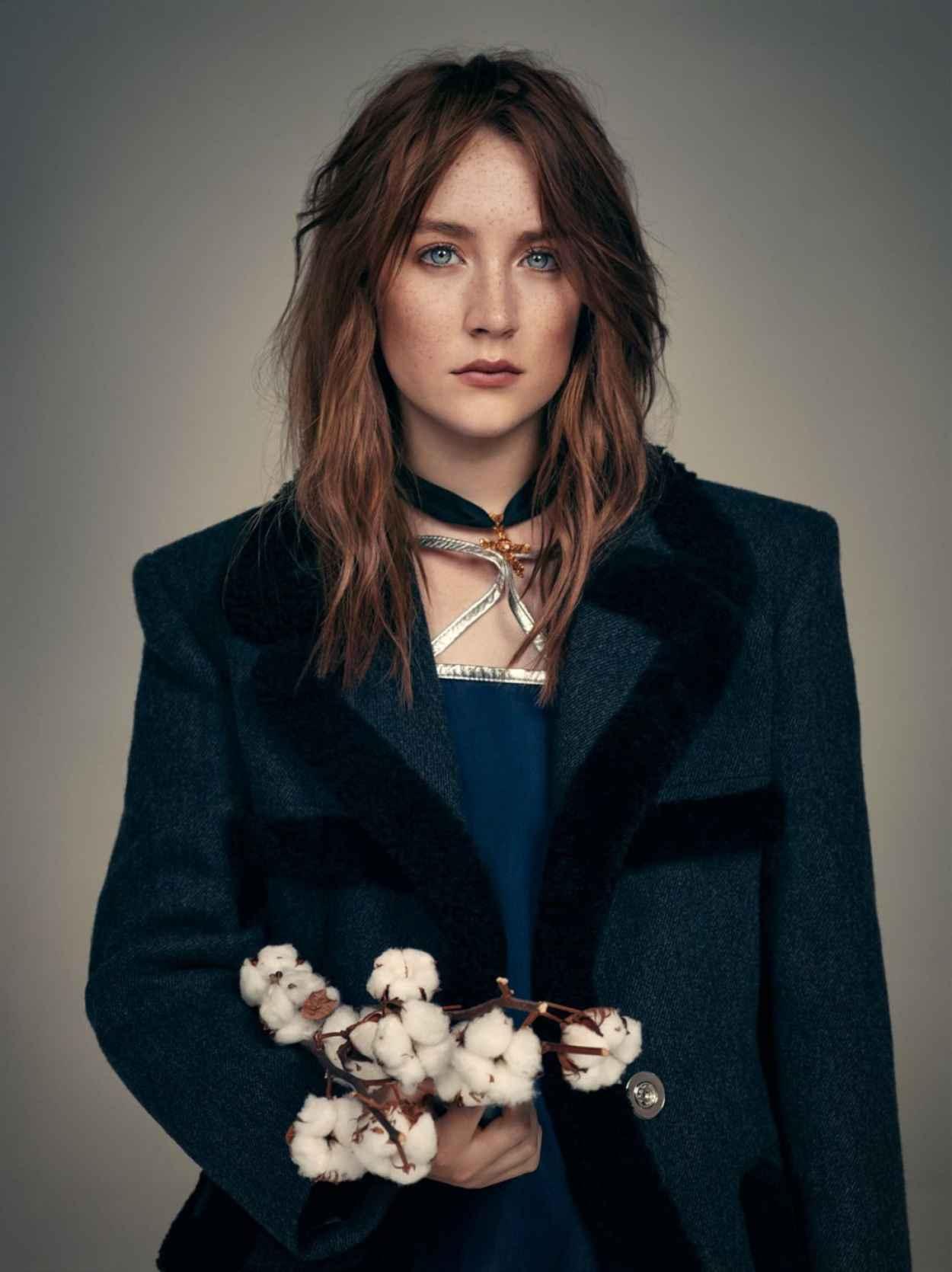 Saoirse Ronan - Wonderland Magazine September/October 2015 Cover & Photos-1