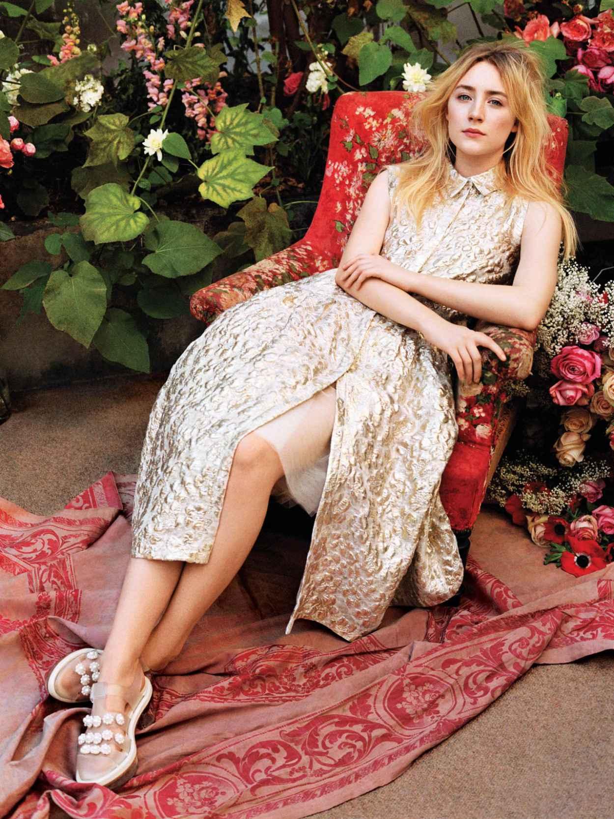 Saorise Ronan - Angelo Pennetta Photoshoot for Vogue Magazine - March 2015-1