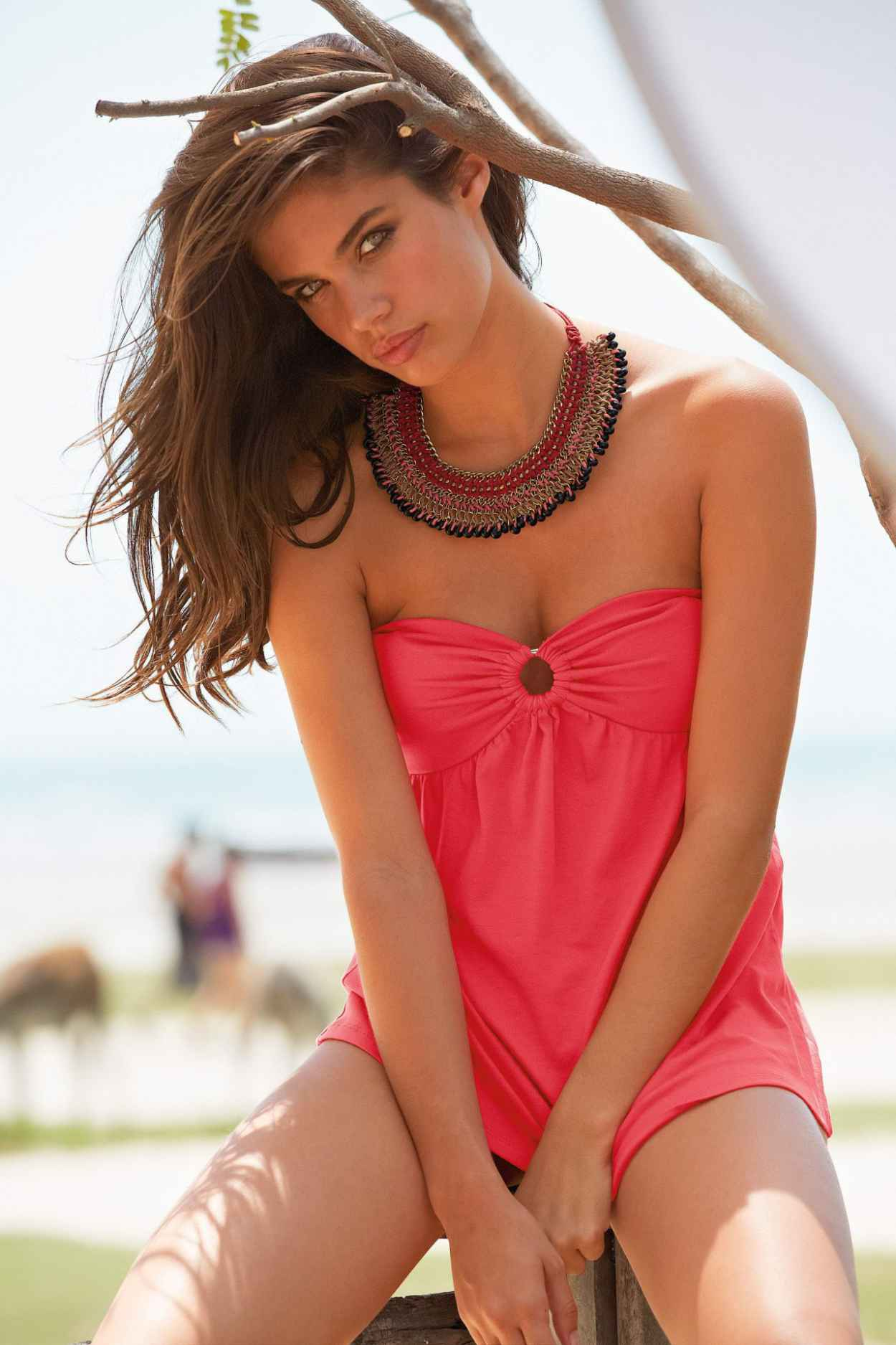 Sara Sampaio - Photoshoot for La Redoute Summer 2015 Collection-1