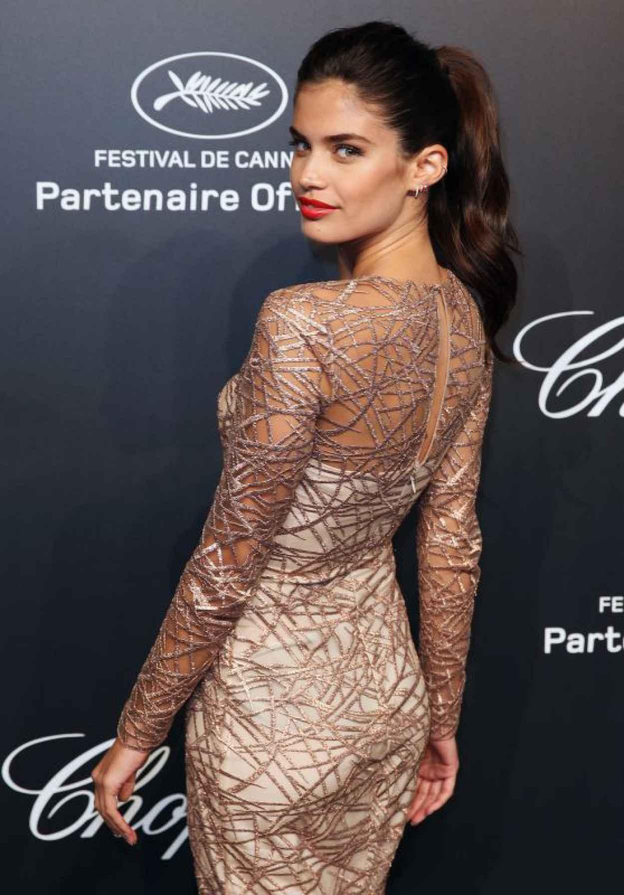 Sara Sampaio - Soiree Chopard -Gold Party- - 2015 Cannes Film Festival-1