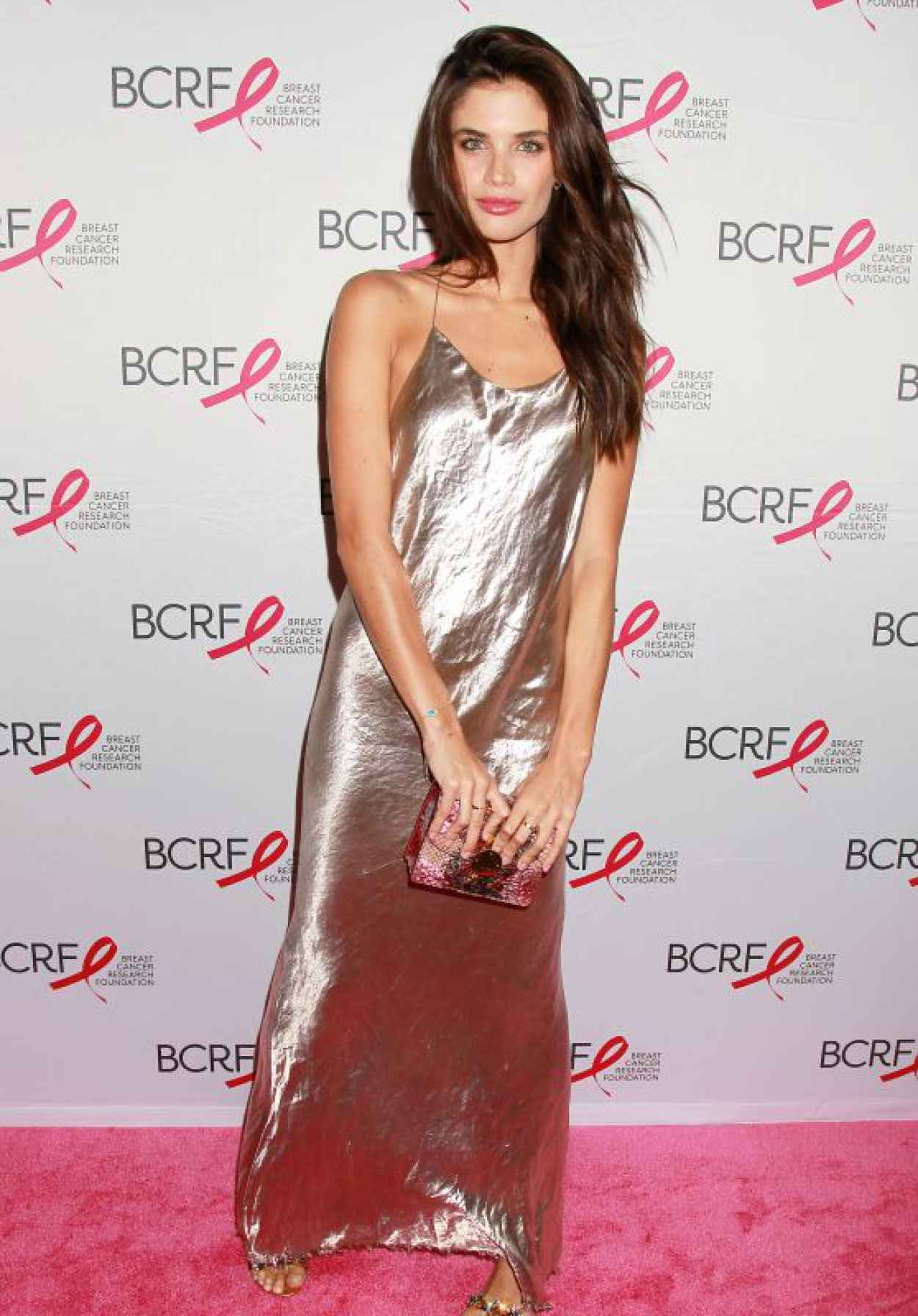 Sara Sampaio - The Breast Cancer Research Foundation 2015 Pink Carpet Party at The Waldorf Astoria in New York City-1