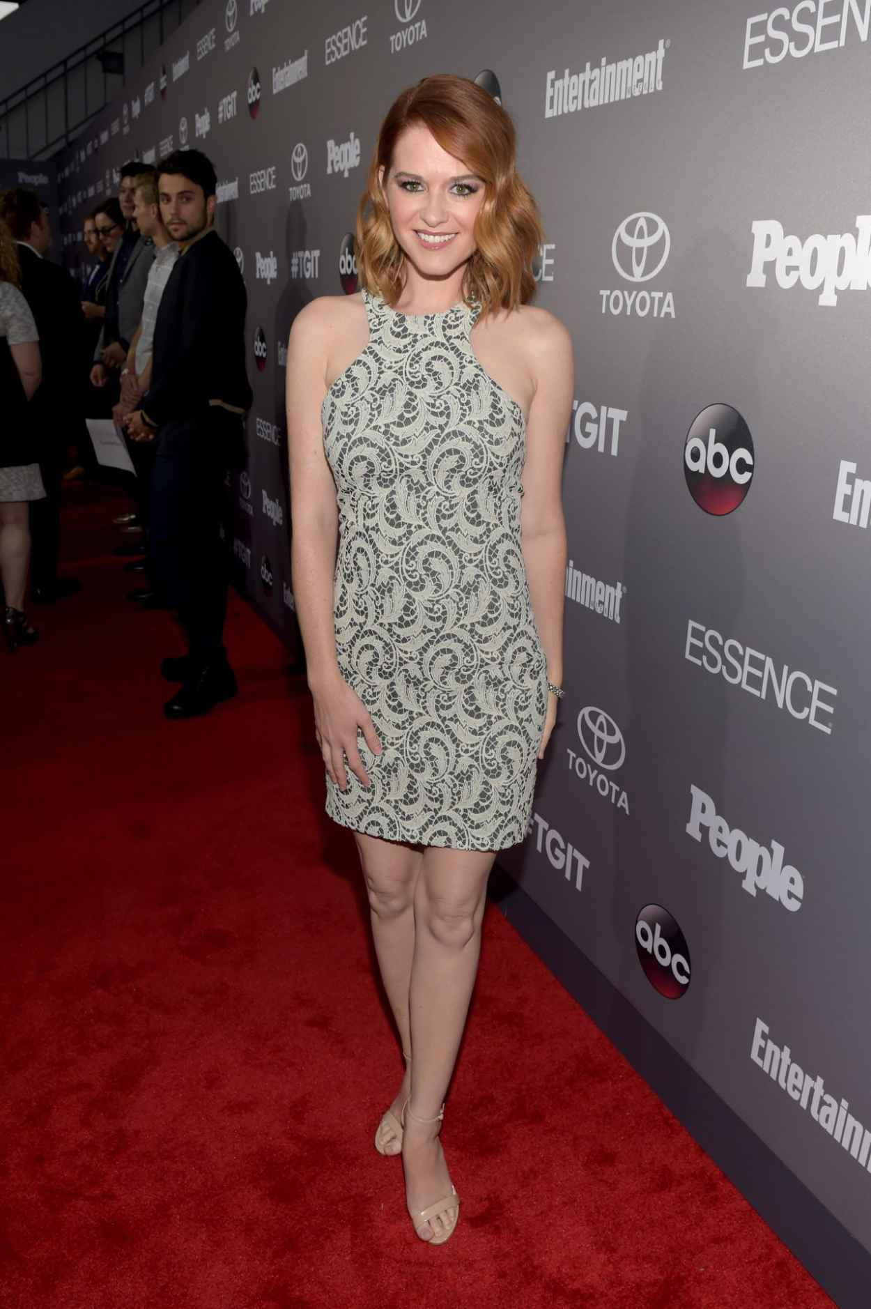 Sarah Drew - ABCs TGIT Line-up Celebration in West Hollywood-3