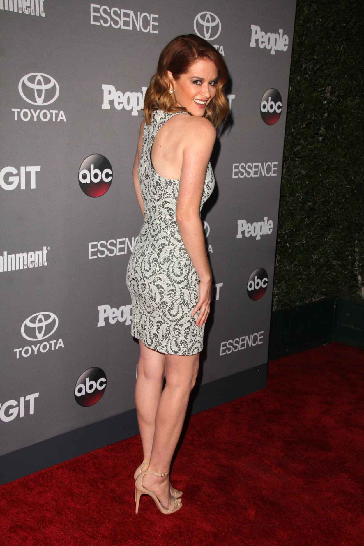 Sarah Drew - ABCs TGIT Line-up Celebration in West Hollywood-5