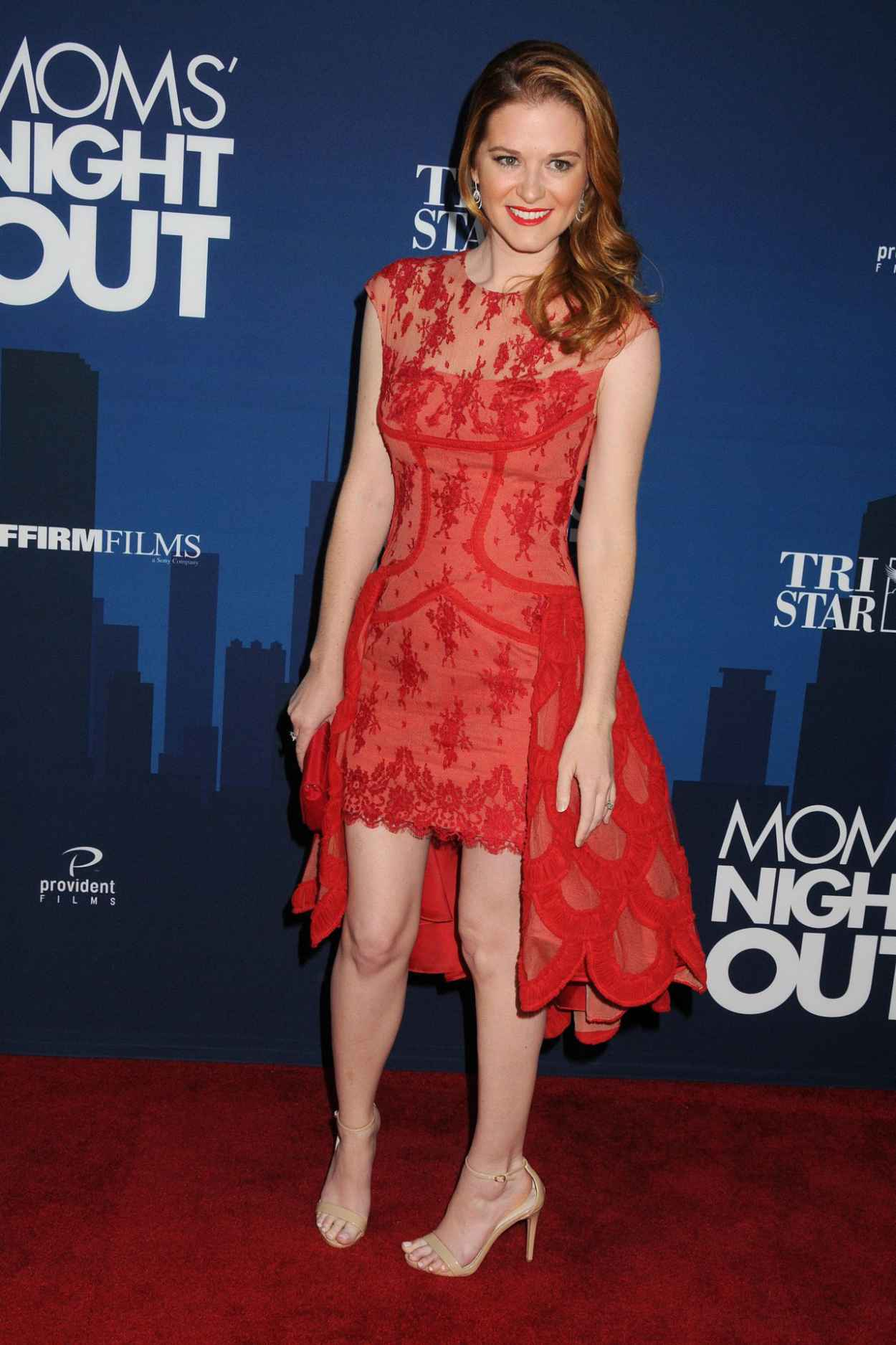 Sarah Drew - TriStar Pictures Moms Night Out, Premiere in Hollywood-2