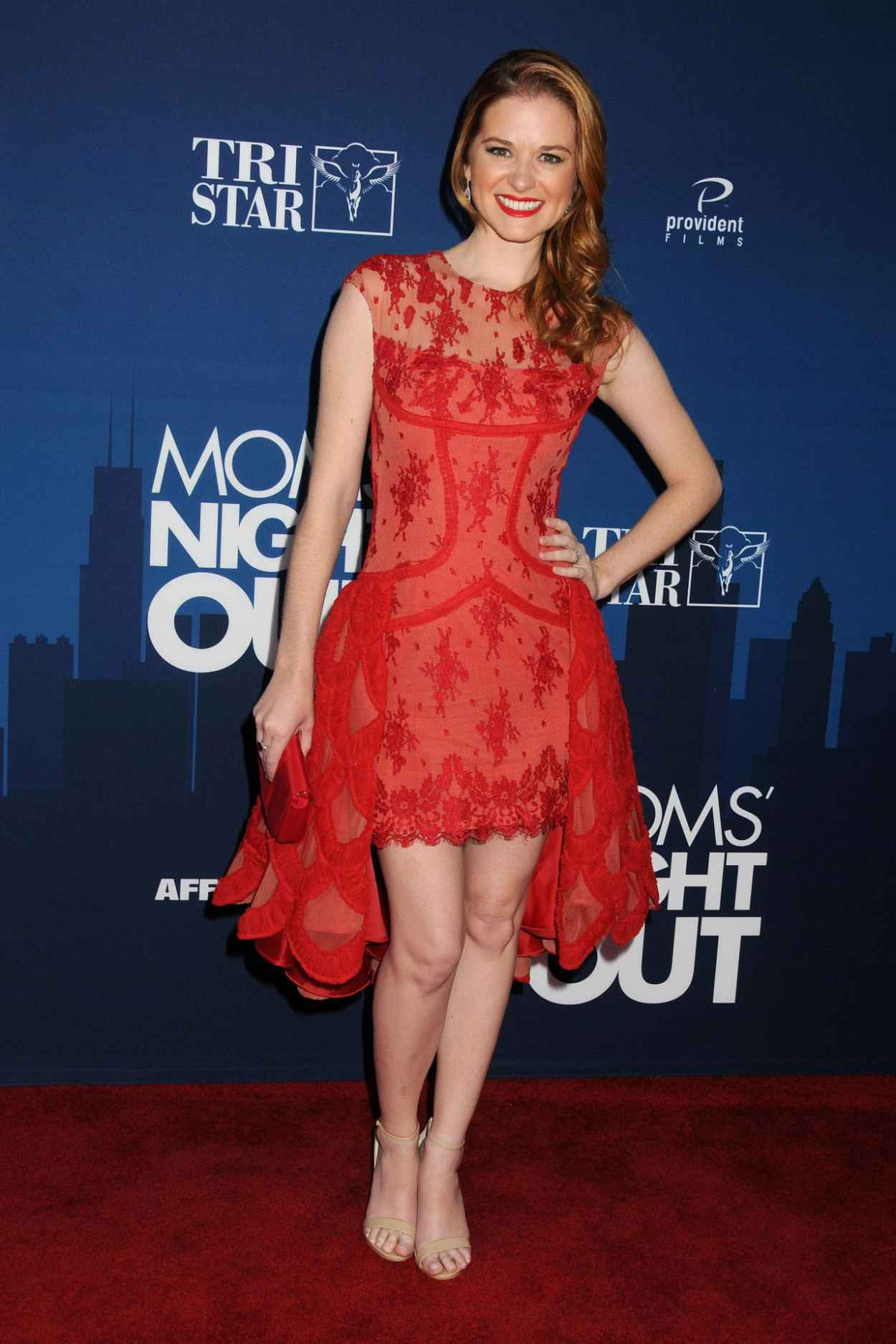 Sarah Drew - TriStar Pictures Moms Night Out, Premiere in Hollywood-5