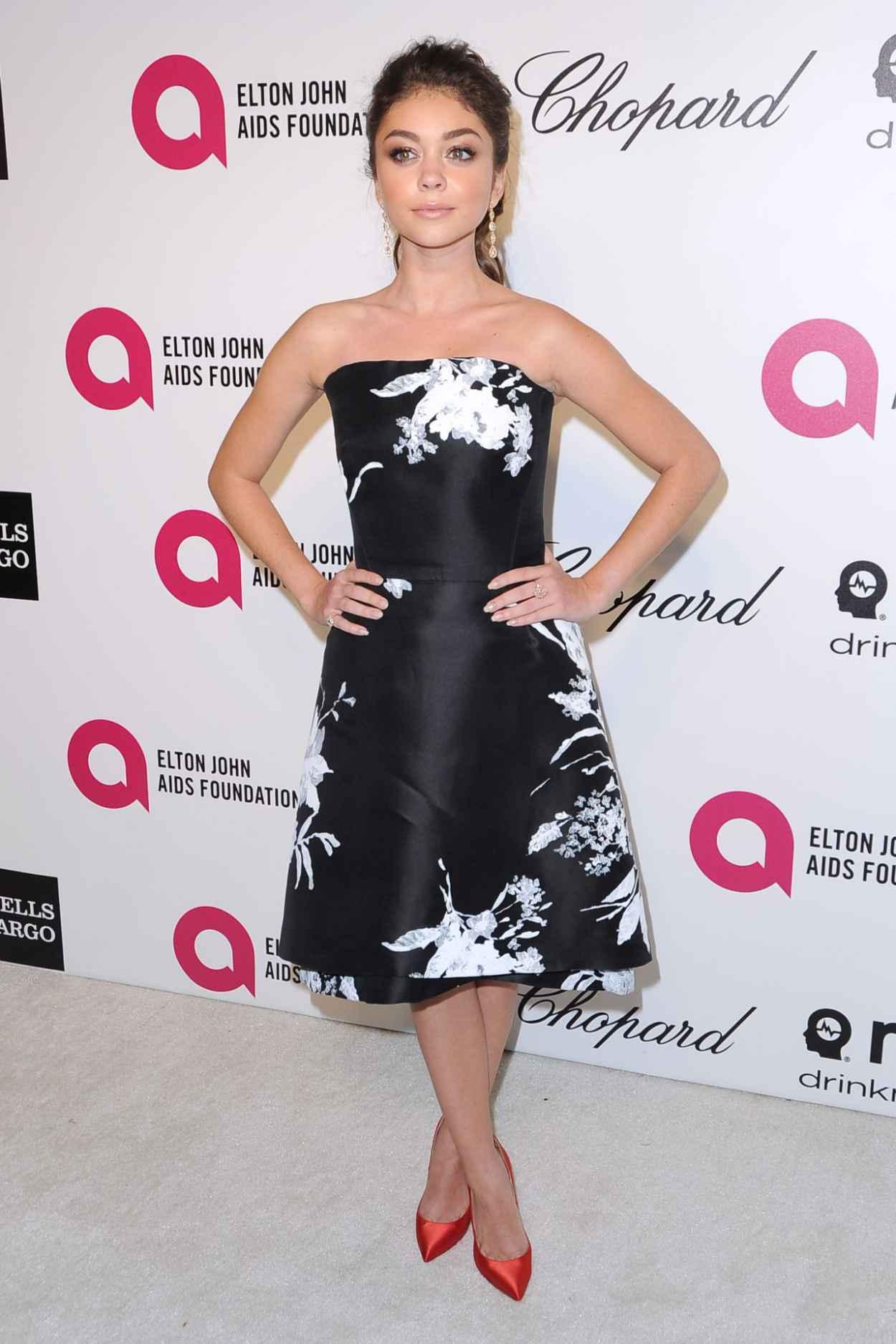Sarah Hyland Cute Pics from 2015 Elton John Oscar Party-1