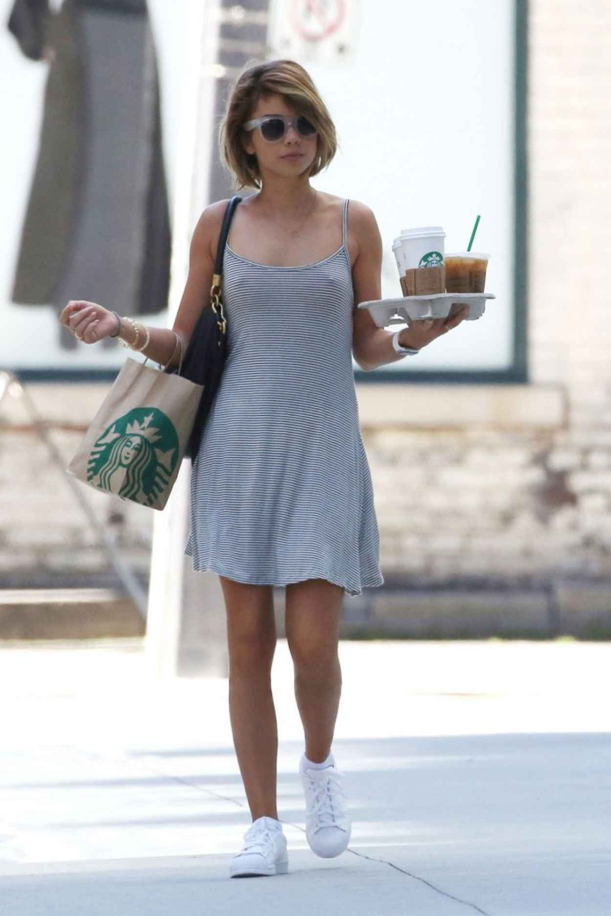 Sarah Hyland - Out in Toronto, August 2015-1