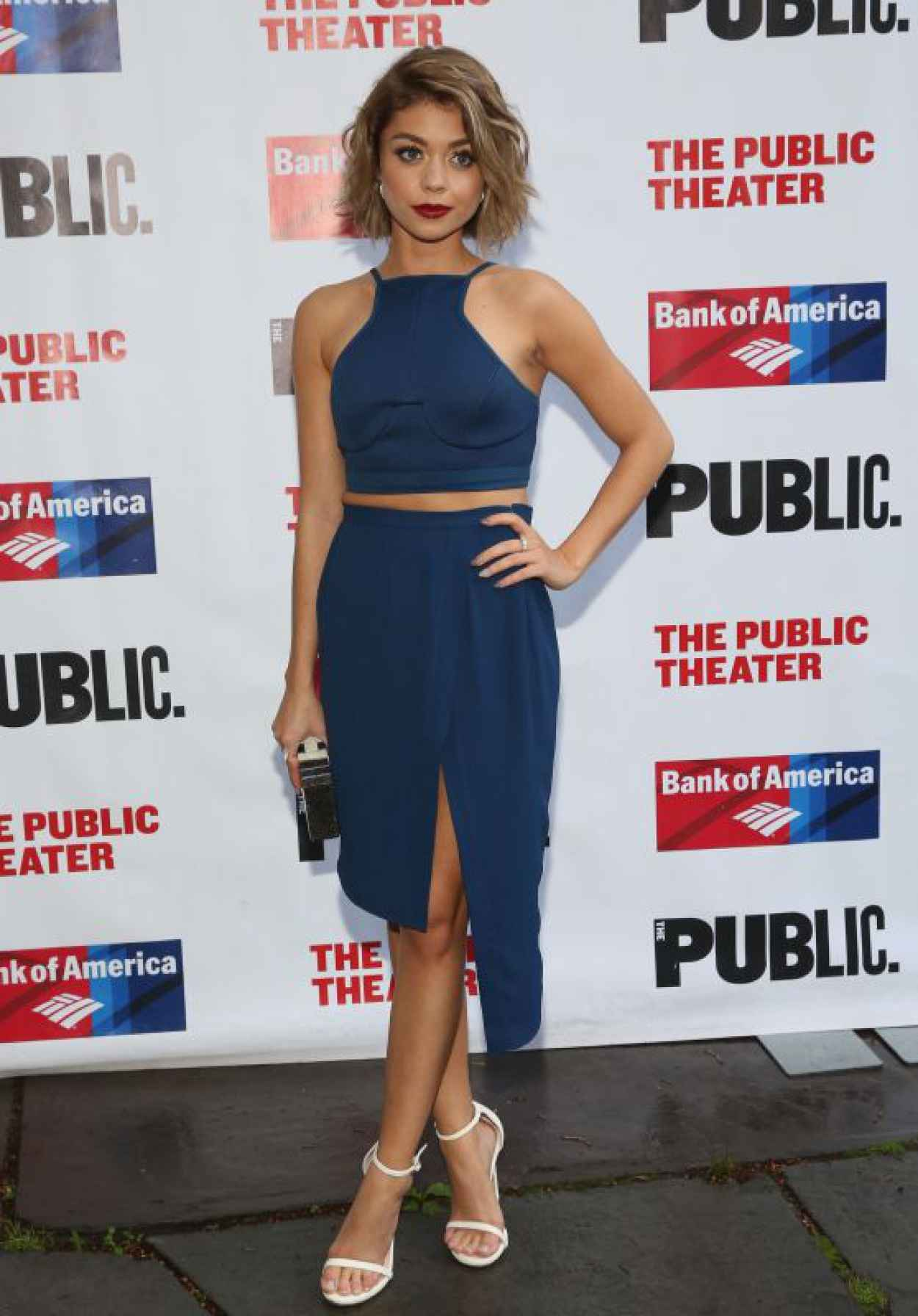 Sarah Hyland - The Public Theaters Opening Night Of The Tempest in New York City-1