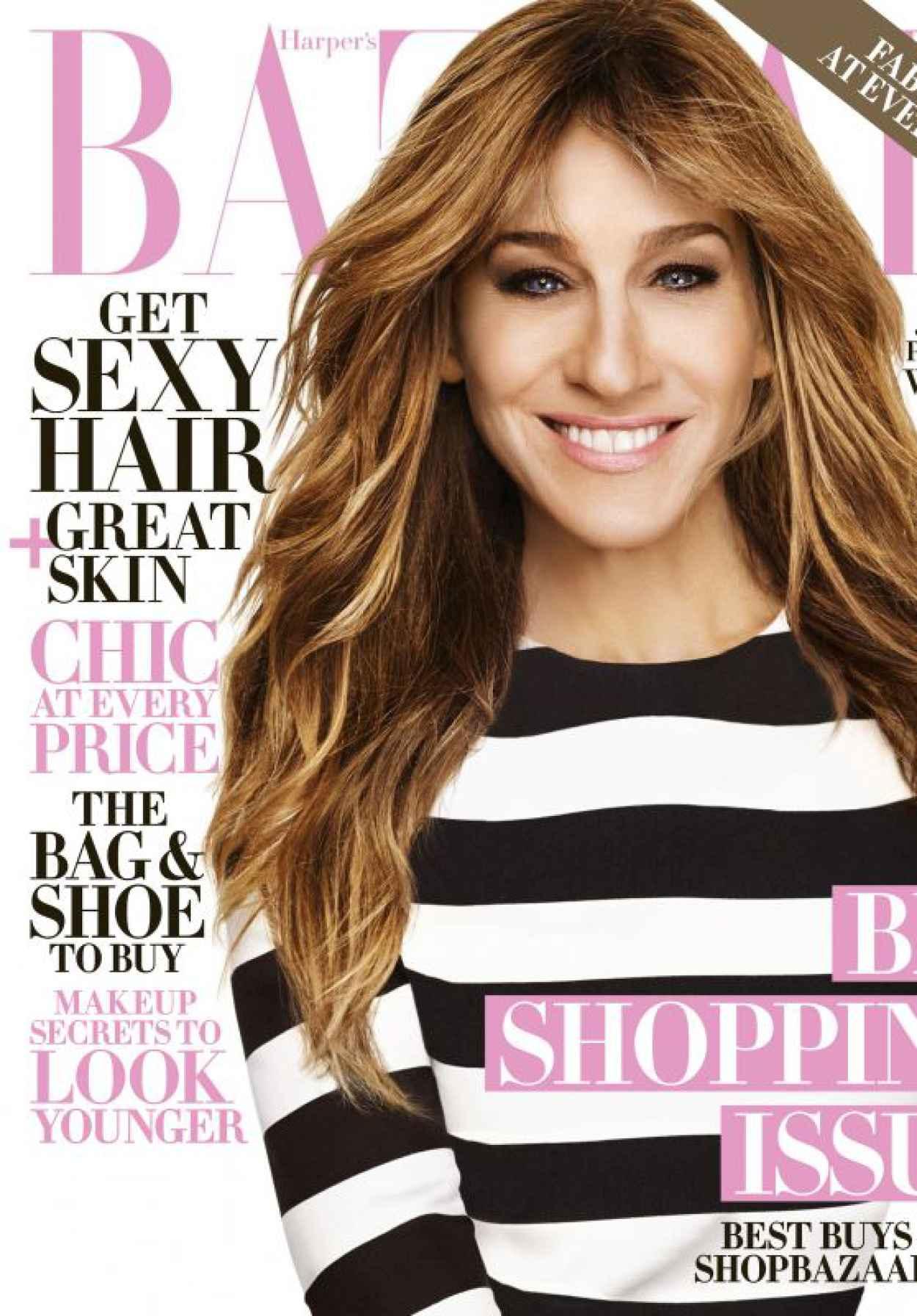 Sarah Jessica Parker - Harpers Bazaar Magazine October 2015 Cover-1