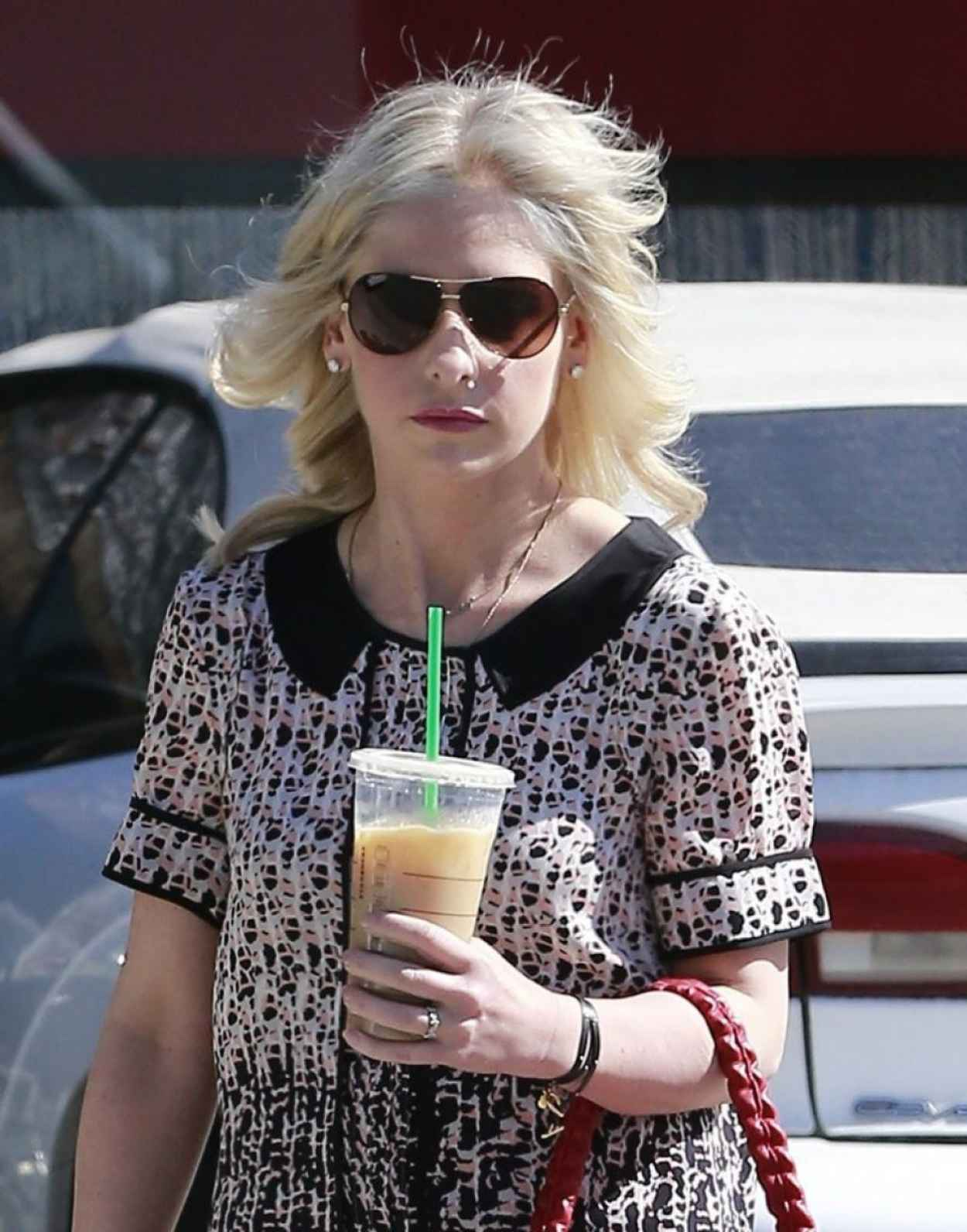 Sarah Michelle Gellar - Leaving Andy LeCompte Salon in West Hollywood-1