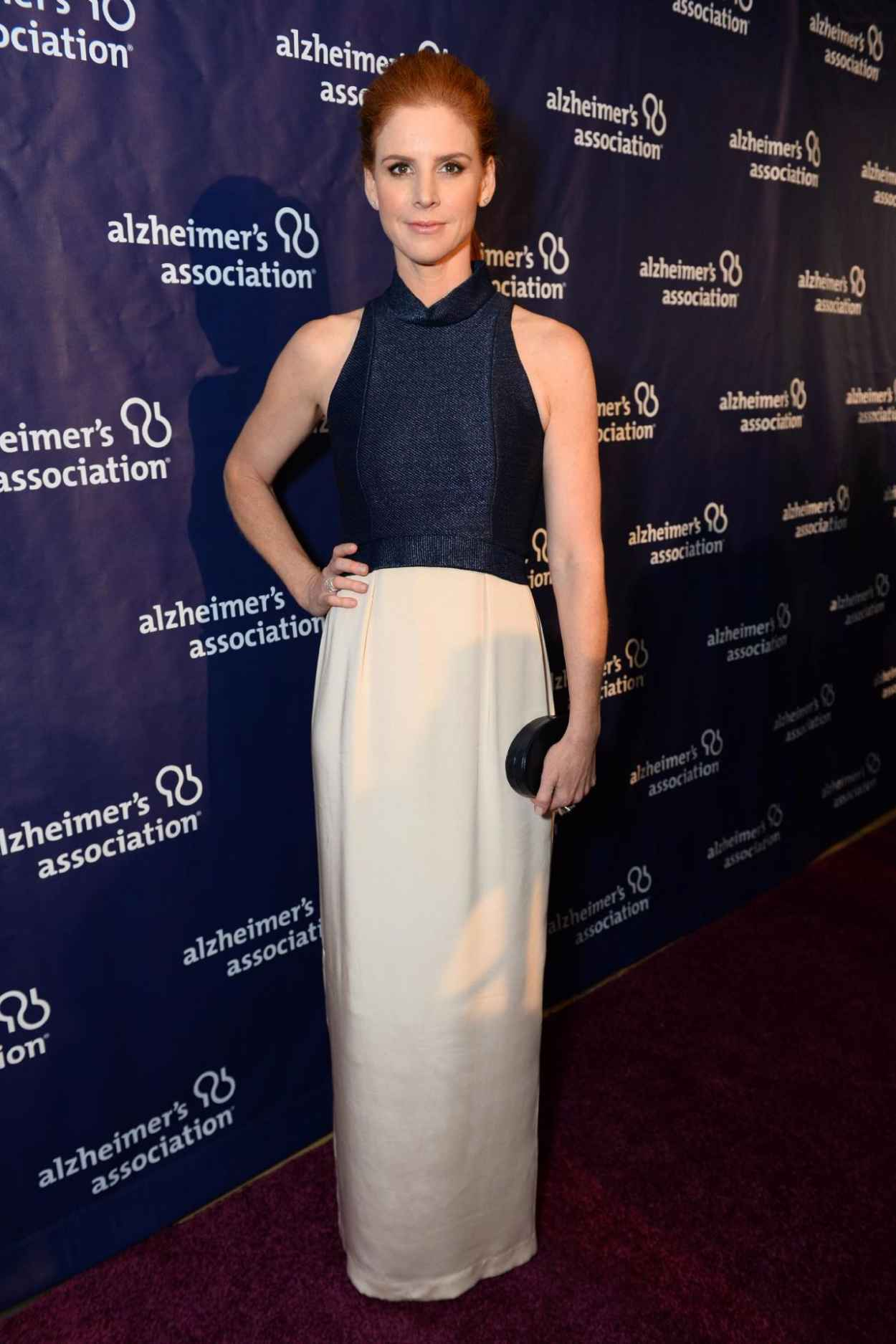 Sarah Rafferty - 2015 -A Night At Sardi-s- at The Beverly Hilton Hotel-1