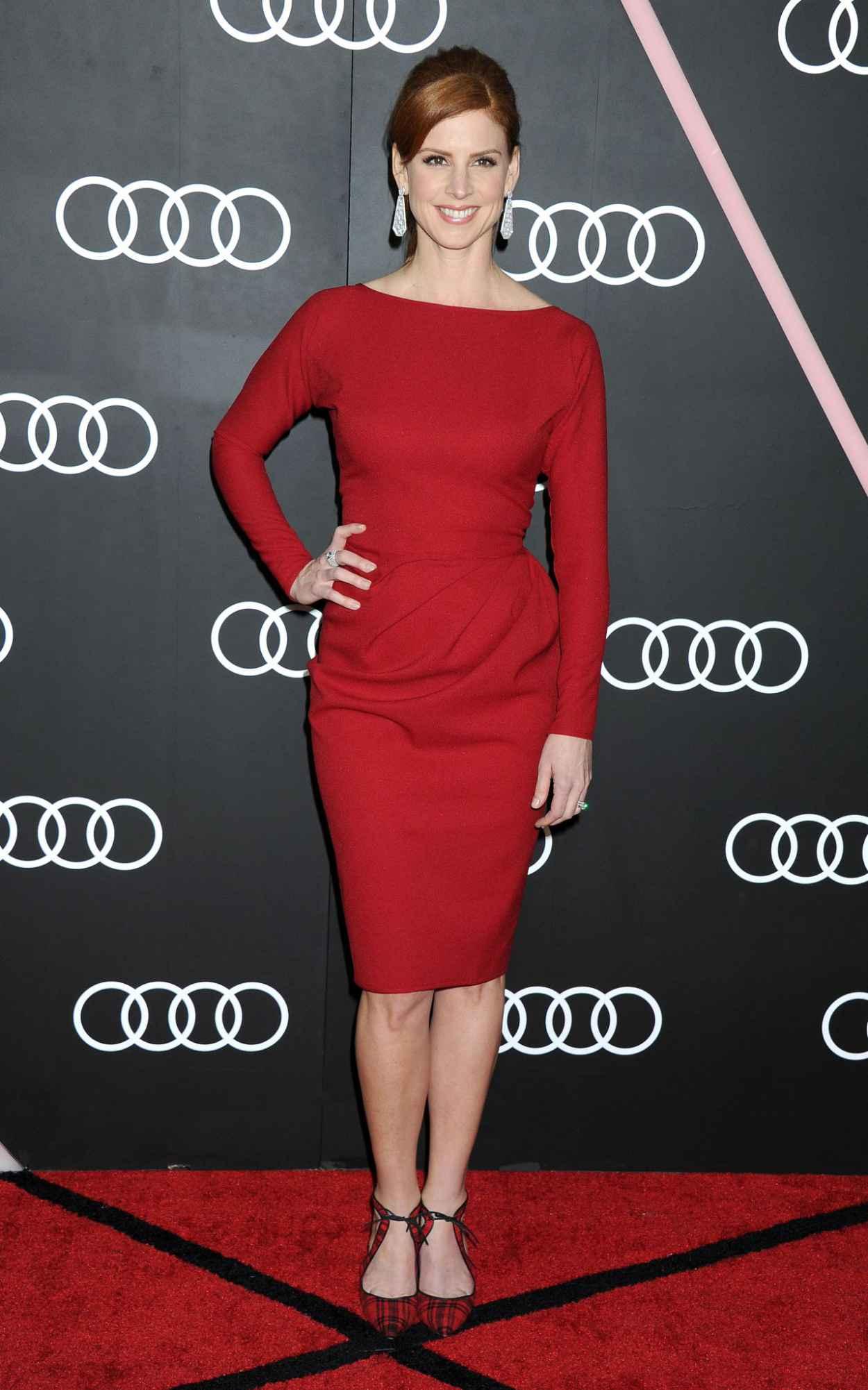 Sarah Rafferty - Audi Celebrates Golden Globes Weekend 2015-1
