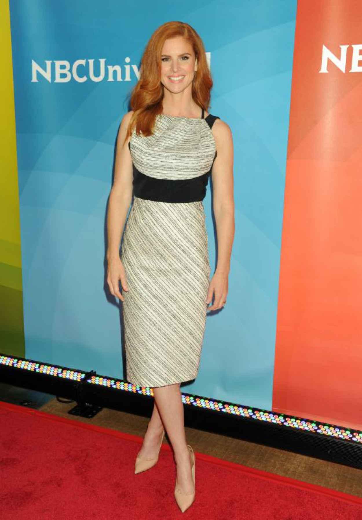 Sarah Rafferty - NBCs 2015 New York Summer Press Day-1