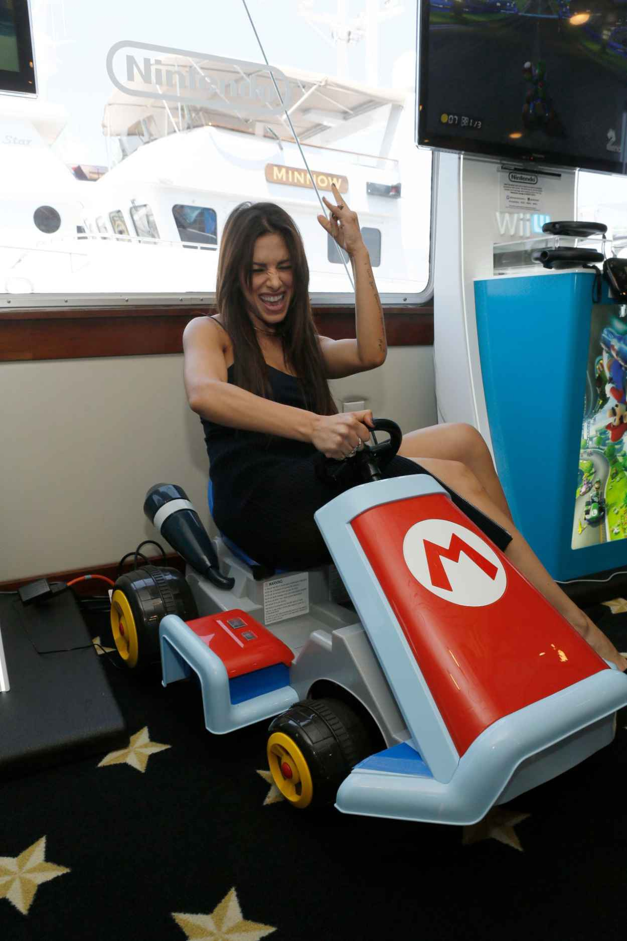 Sarah Shahi - Nintendo Lounge on the TV Guide Magazine Yacht at Comic-Con 2015-1