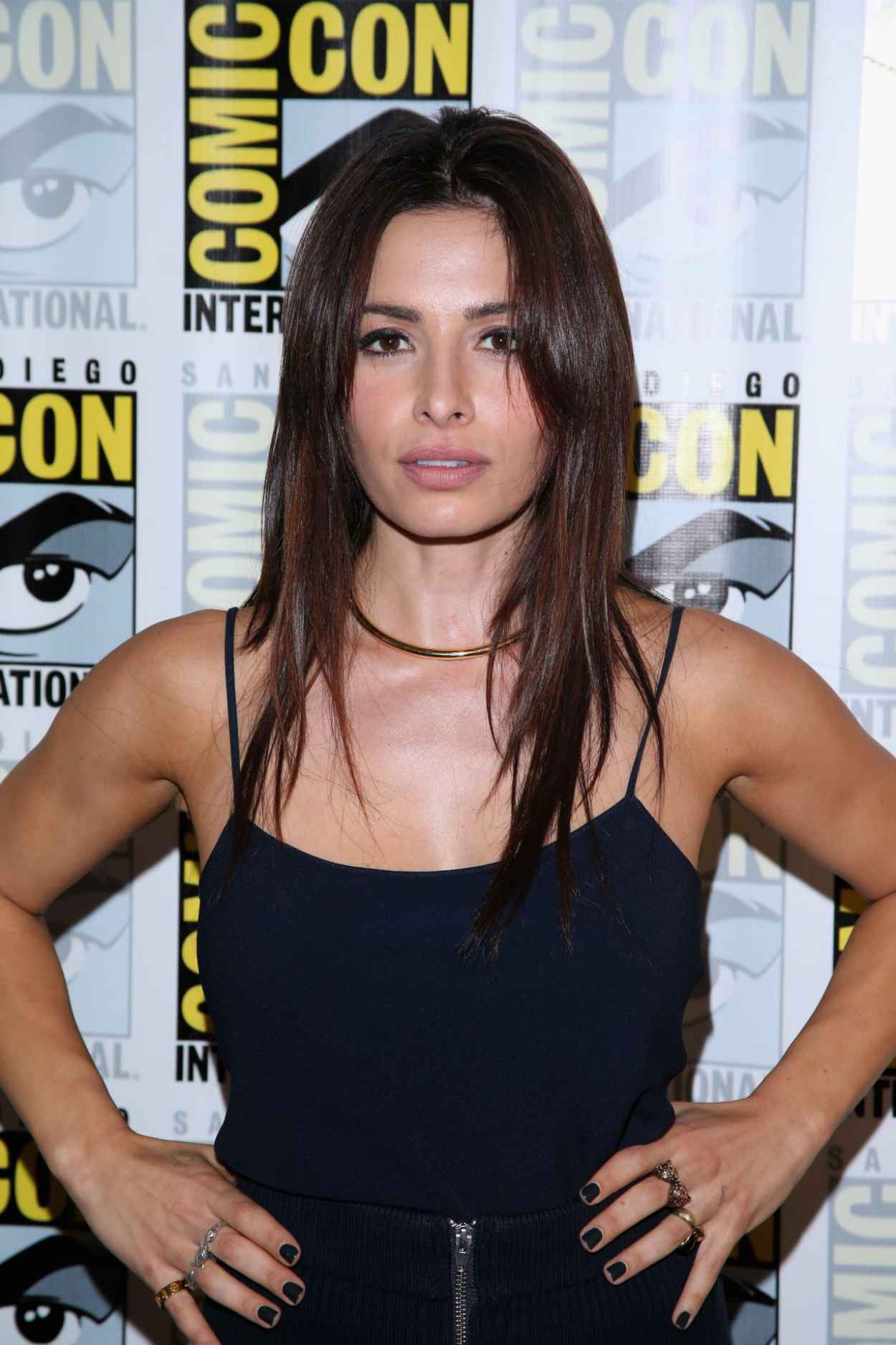 Sarah Shahi - Person of Interest Press Line & Panel at Comic-Con 2015 in San Diego-1