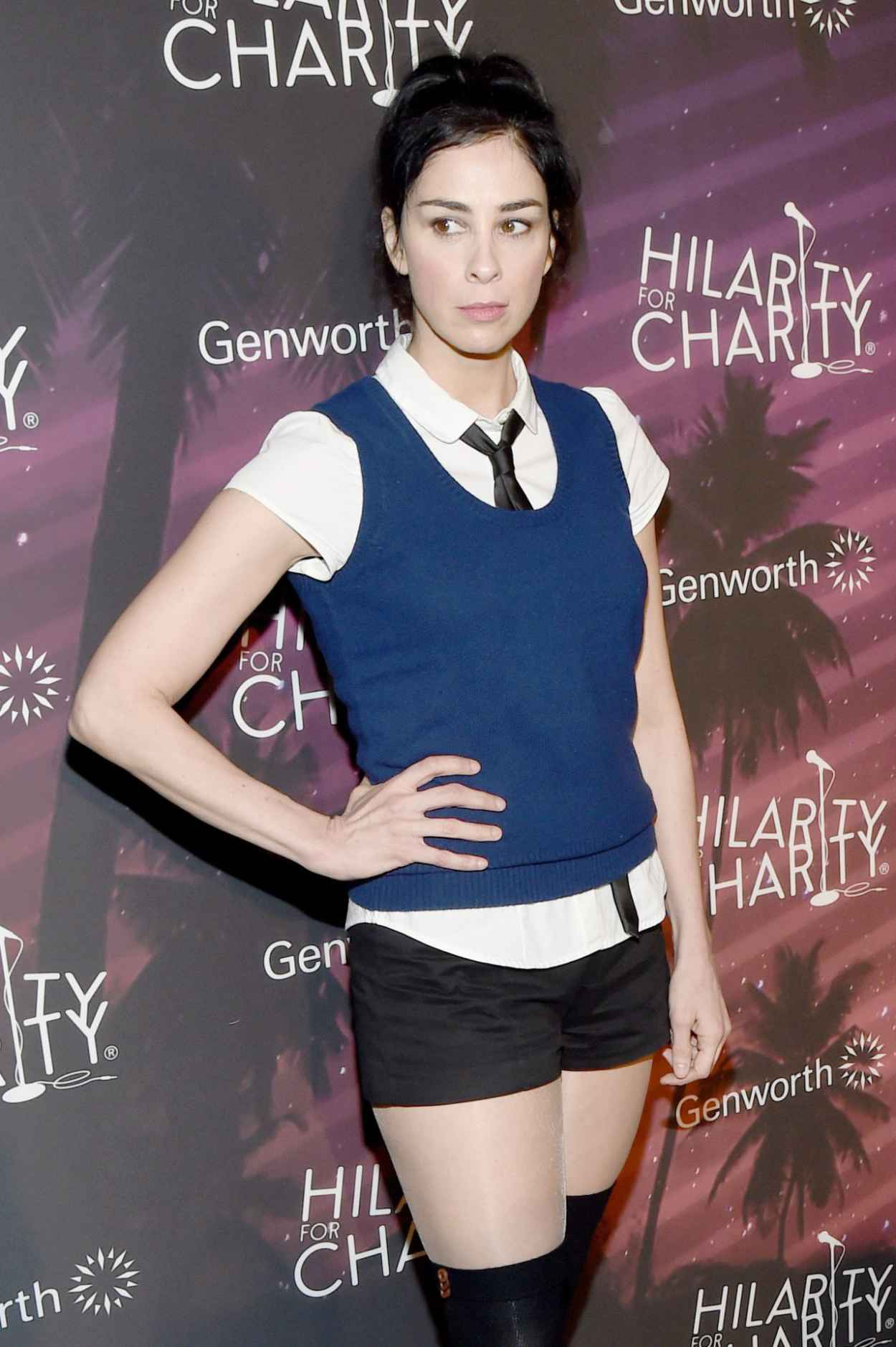 Sarah Silverman - 2015 Hilarity for Charity Variety Show in Hollywood-1