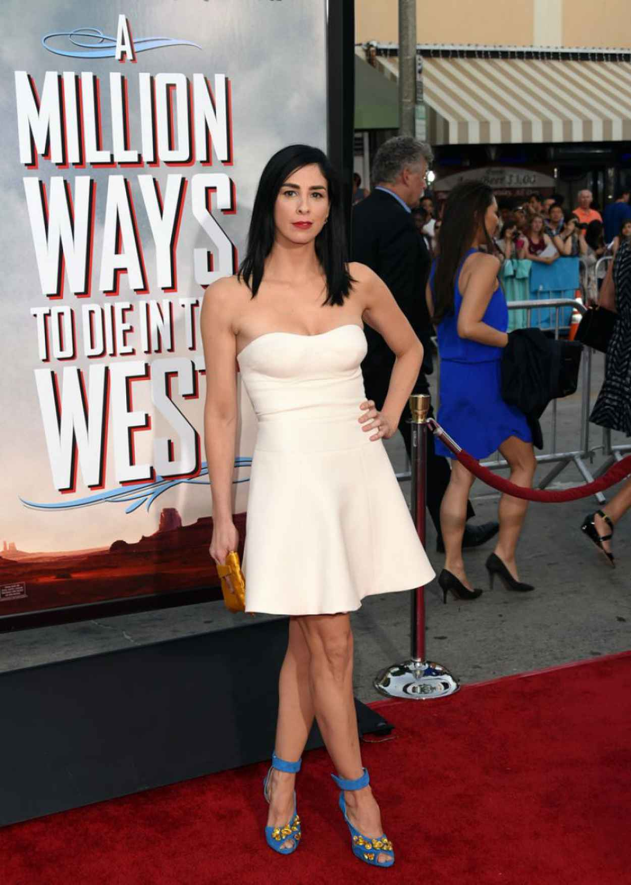 Sarah Silverman - A Million Ways To Die In The West Premiere in Los Angeles-1