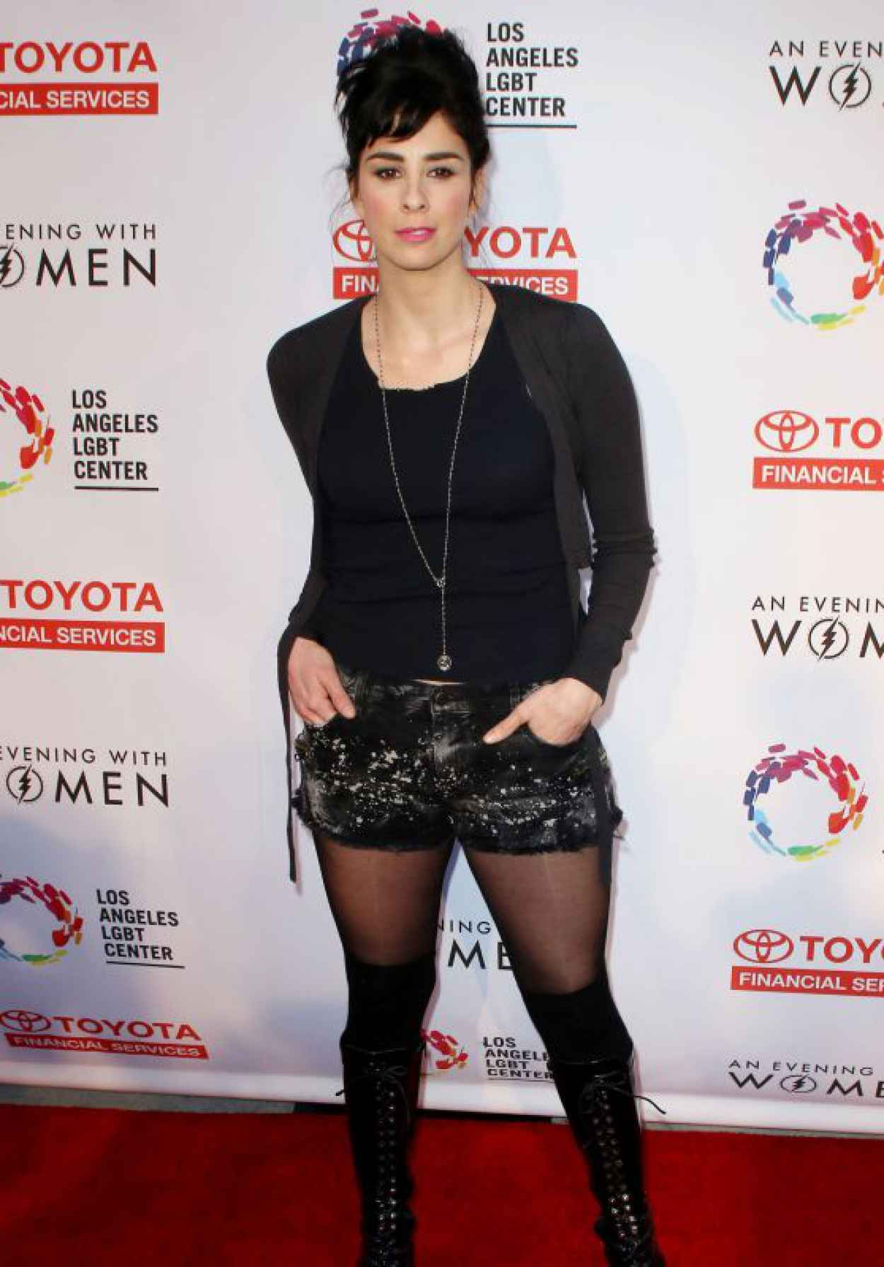 Sarah Silverman - An Evening With Women Benefiting the Los Angeles LGBT Center, May 2015-1