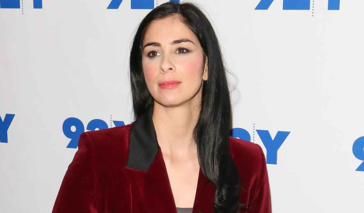 Sarah Silverman at 92Y in New York City - November 2015-1