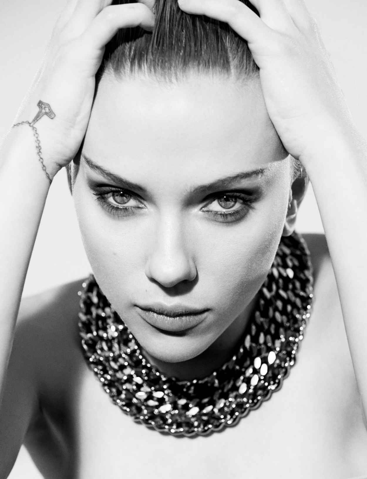 Scarlett Johansson - Dazed Magazine - Spring 2015 Issue-1