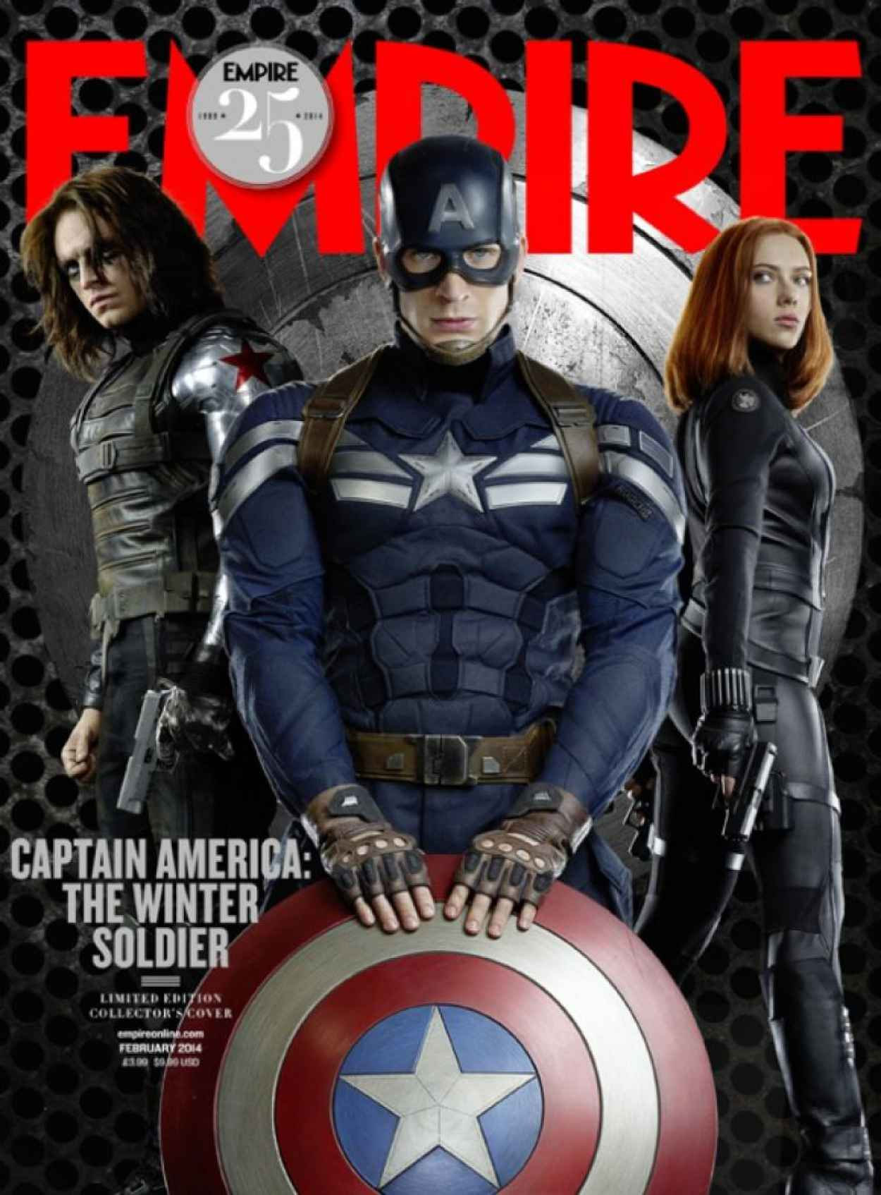 Scarlett Johansson - EMPIRE Magazine - February 2015 Issue-1