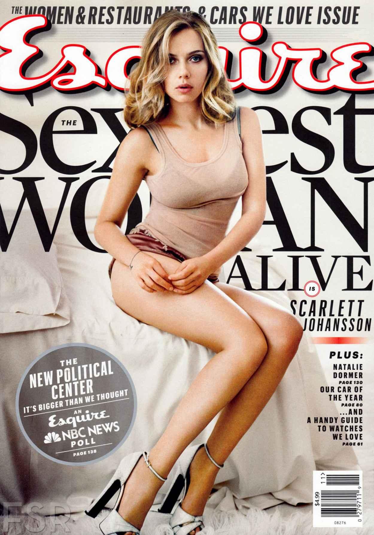 Scarlett Johansson - Esquire Magazine November 2015-1