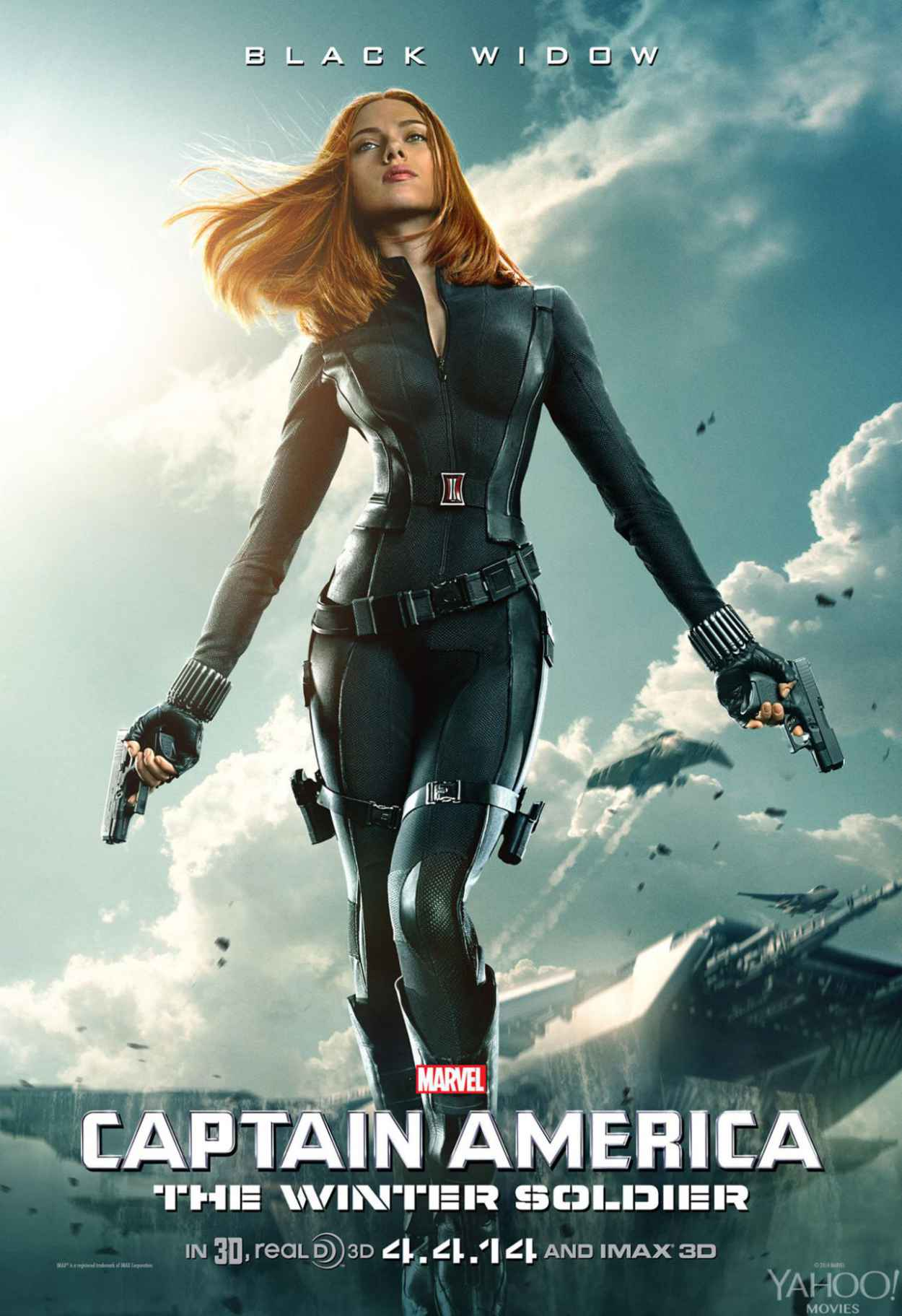 Scarlett Johansson - New CAPTAIN AMERICA: WINTER SOLDIER Poster-1