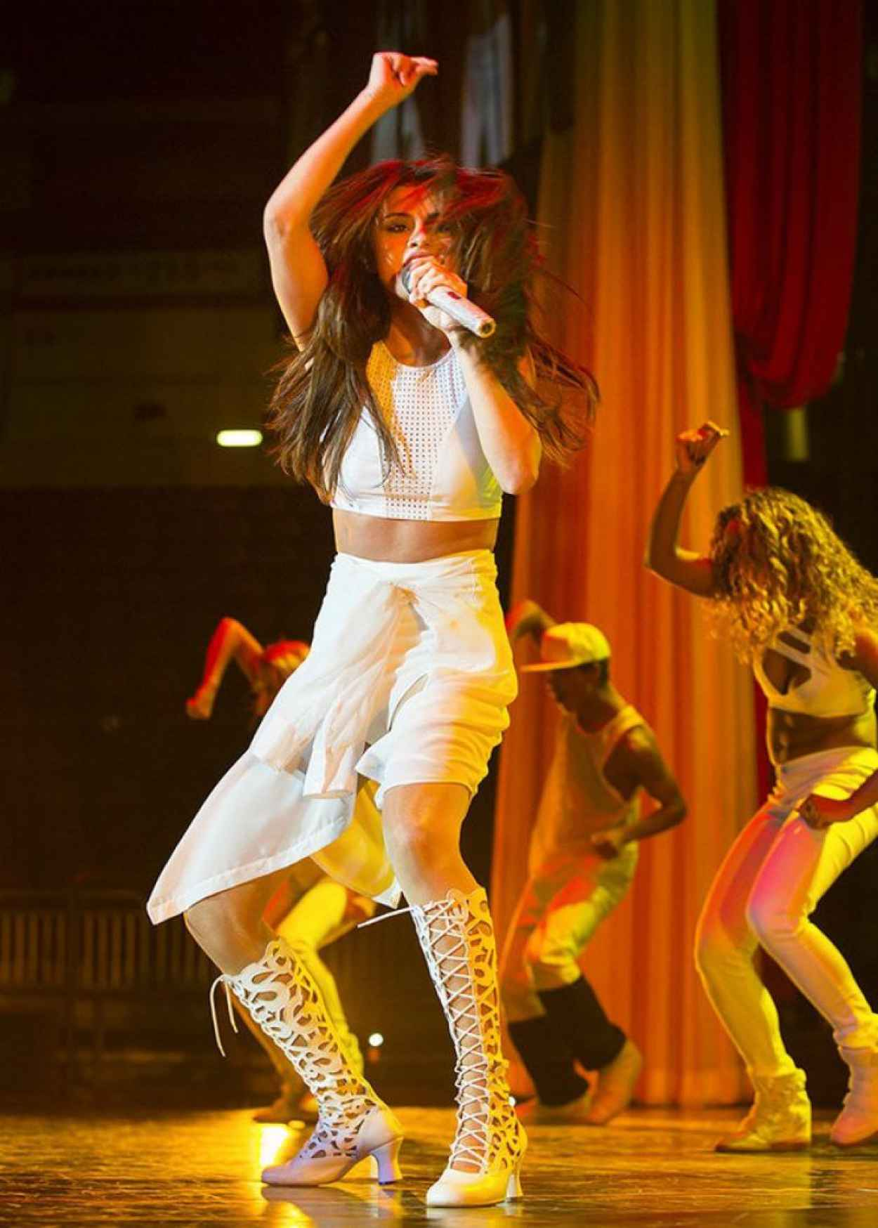 Selena Gomez - Stars Dance Tour in Hershey, Pennsylvania-1