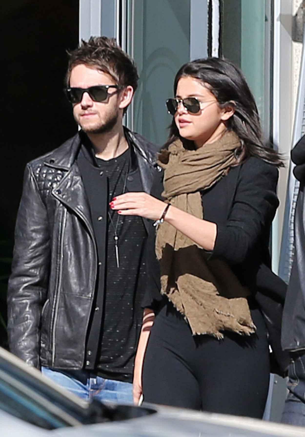 Selena Gomez With Her New Boyfriend DJ Zedd, Out in